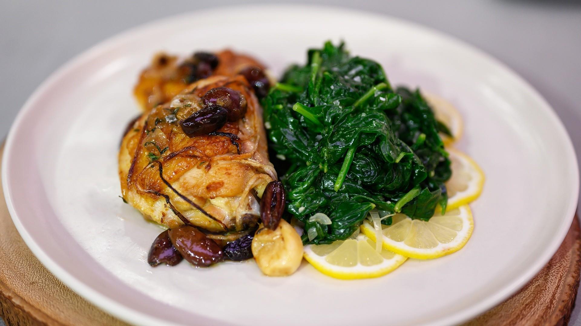Entertaining recipes: Make Valerie Bertinelli's garlic chicken