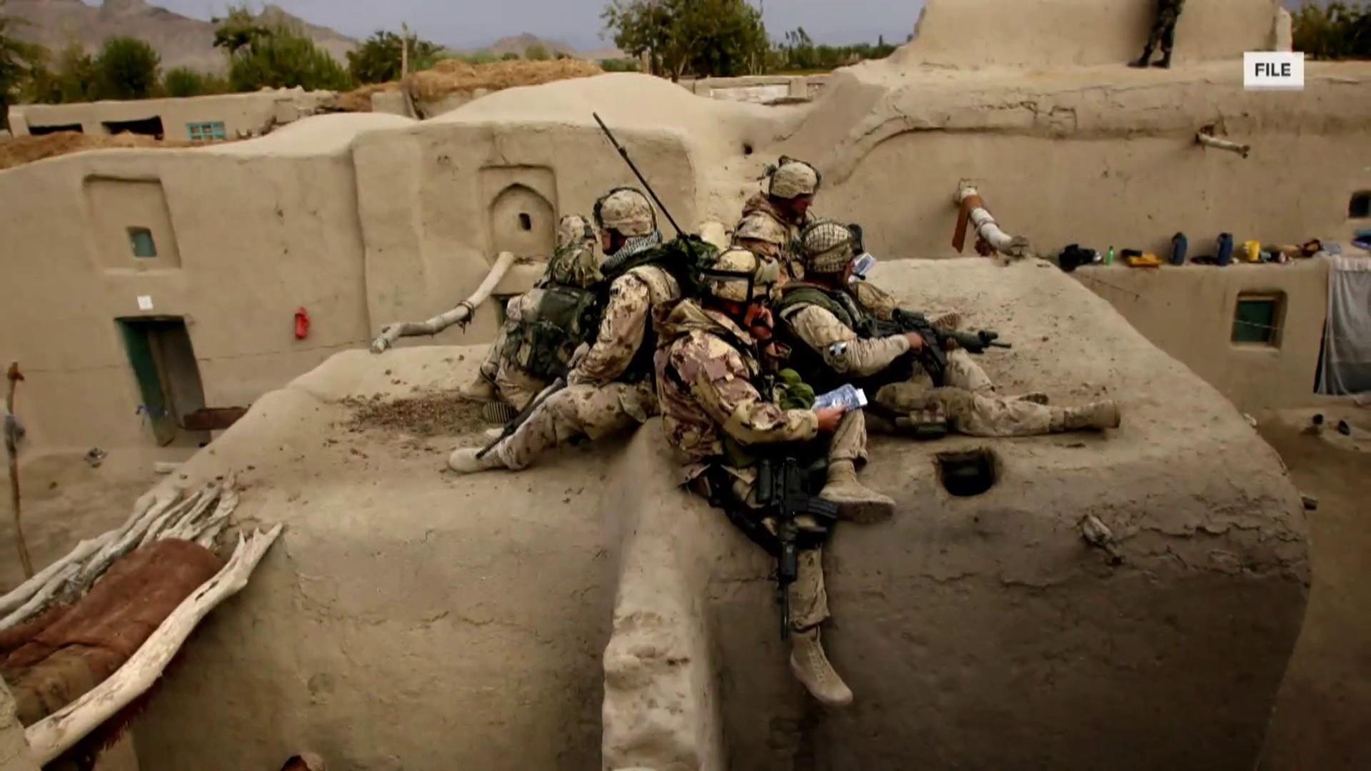 U.S. says two troops killed in combat in Afghanistan