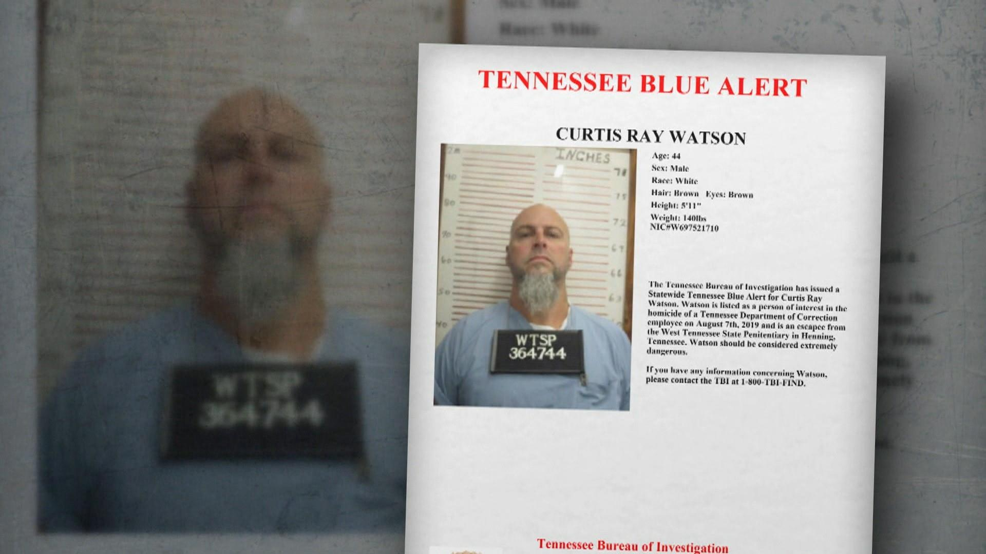 Inmate on the loose after Tennessee prison worker found dead