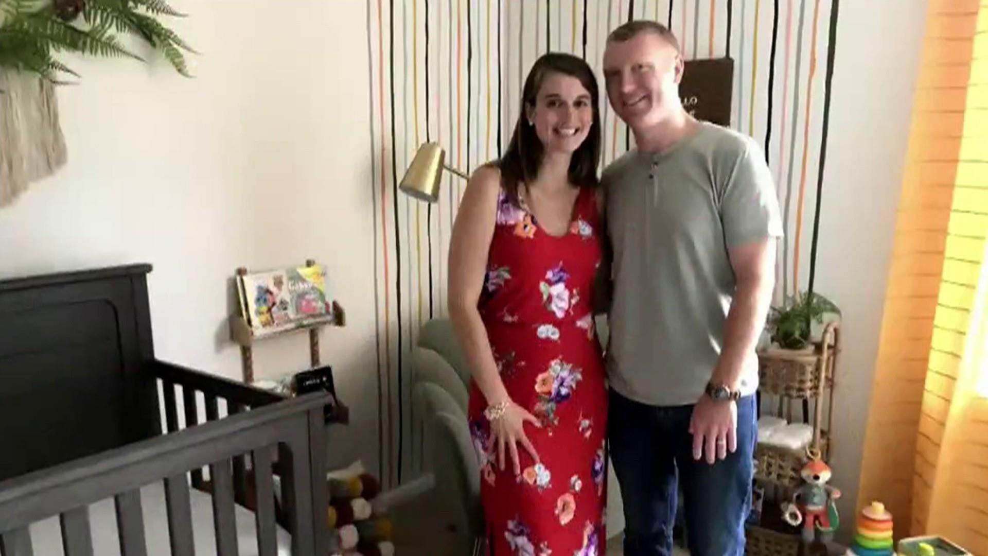 Couple who struggled to start a family gets nursery room makeover
