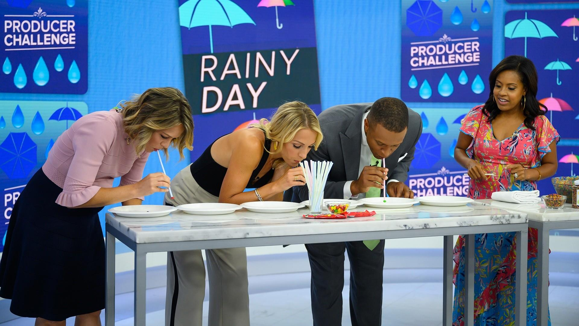 TODAY anchors share rainy day activities for kids