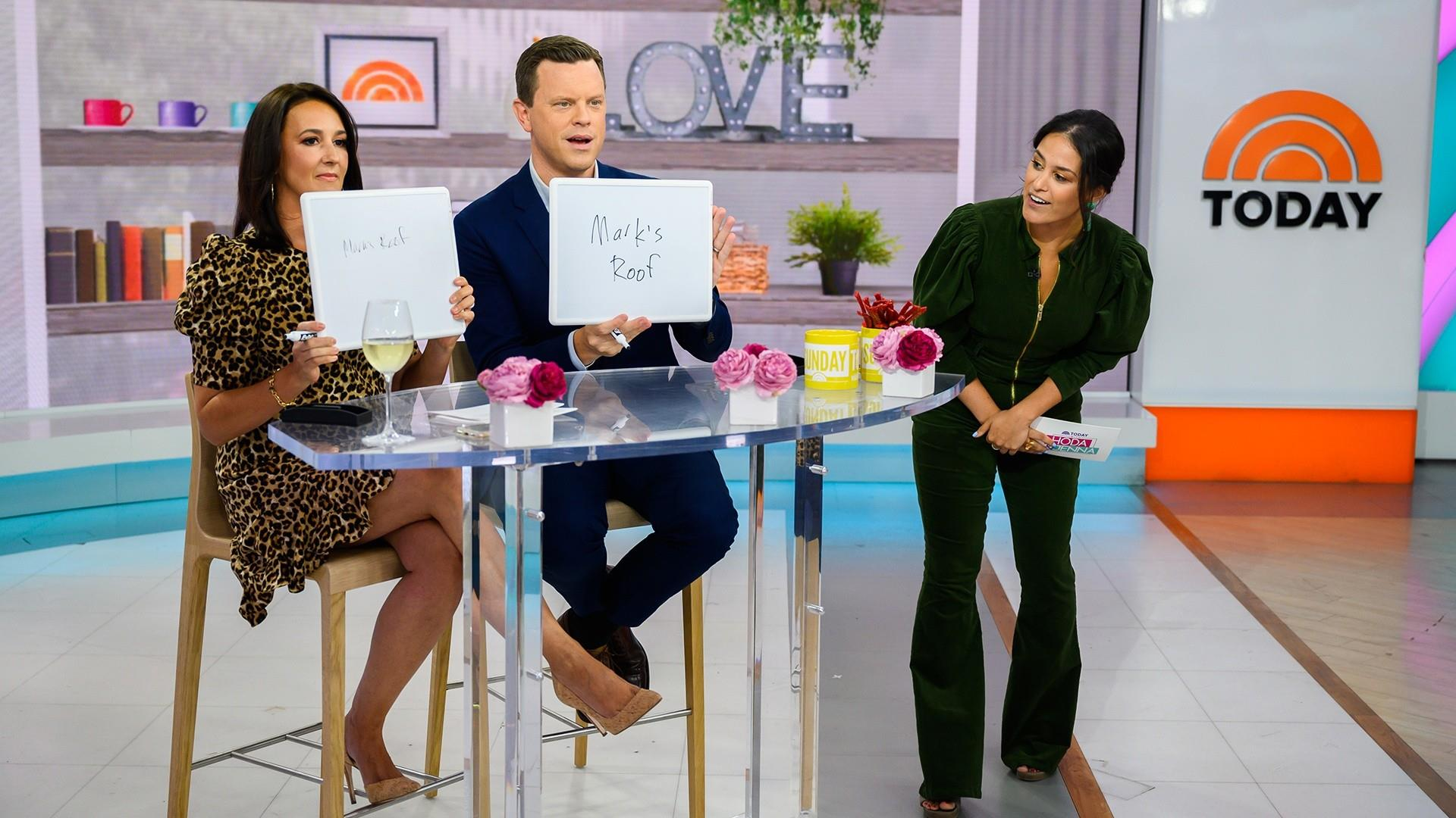Willie Geist and wife Christina see how well they know each other
