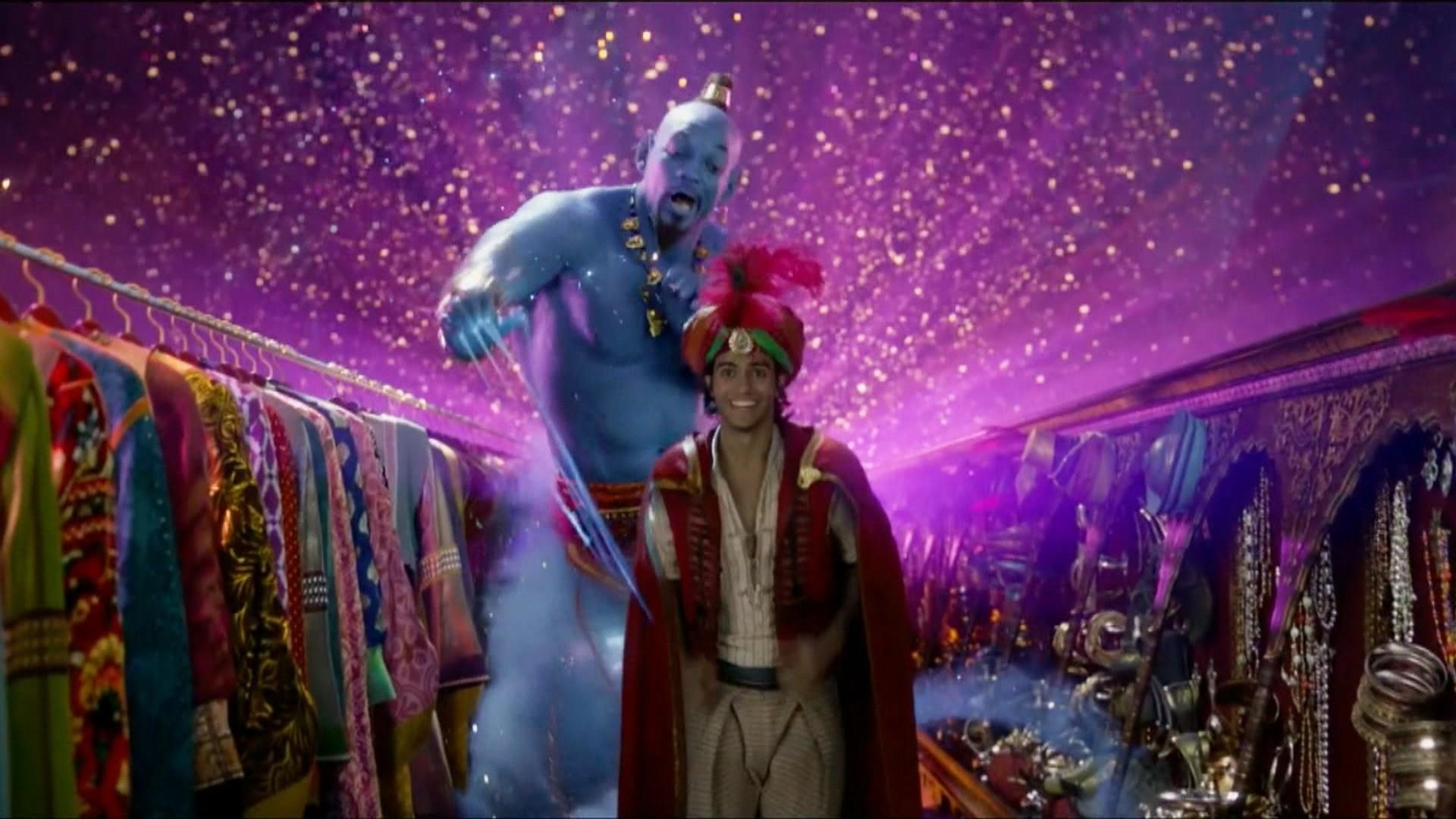 Will Smith shares how he filmed 'Friend Like Me' scene for 'Aladdin'