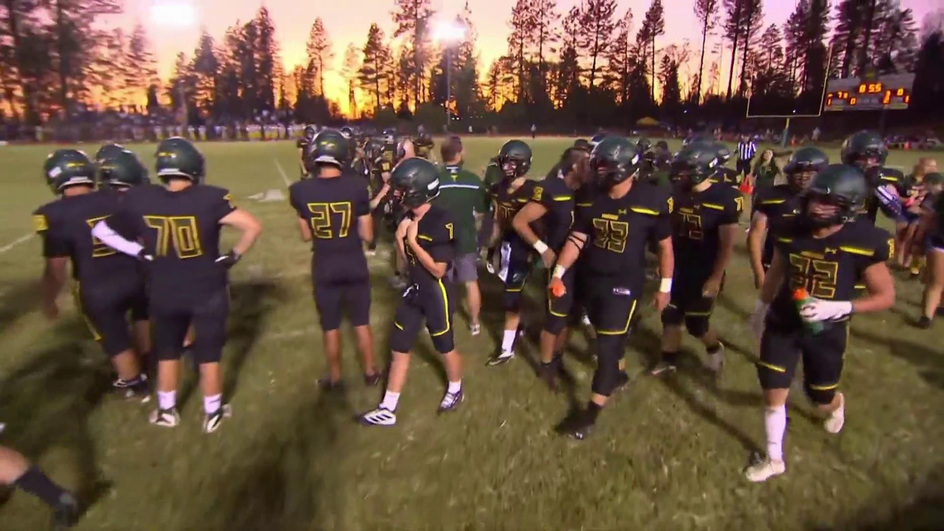 California high school football team makes a comeback after wildfires