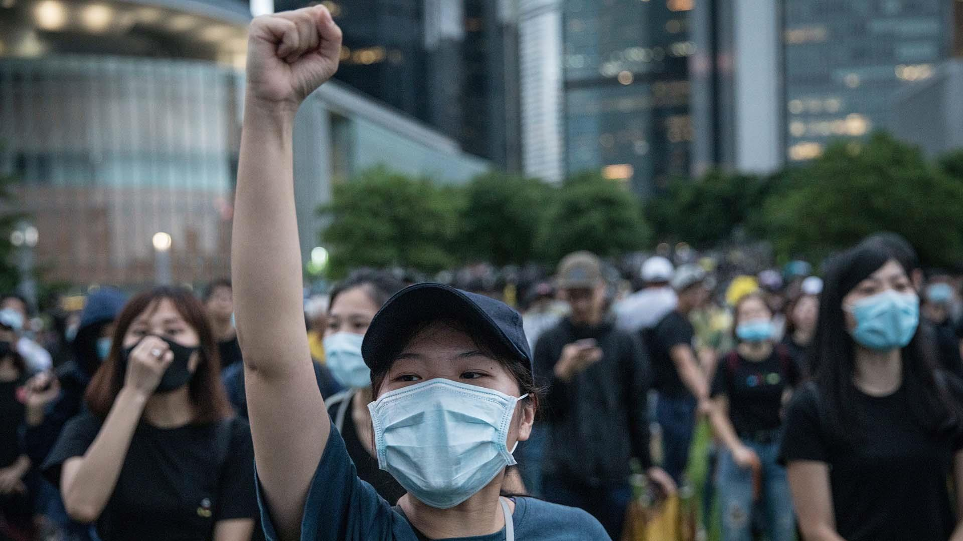 Welcome back to school: Hong Kong students stage pro-democracy protests