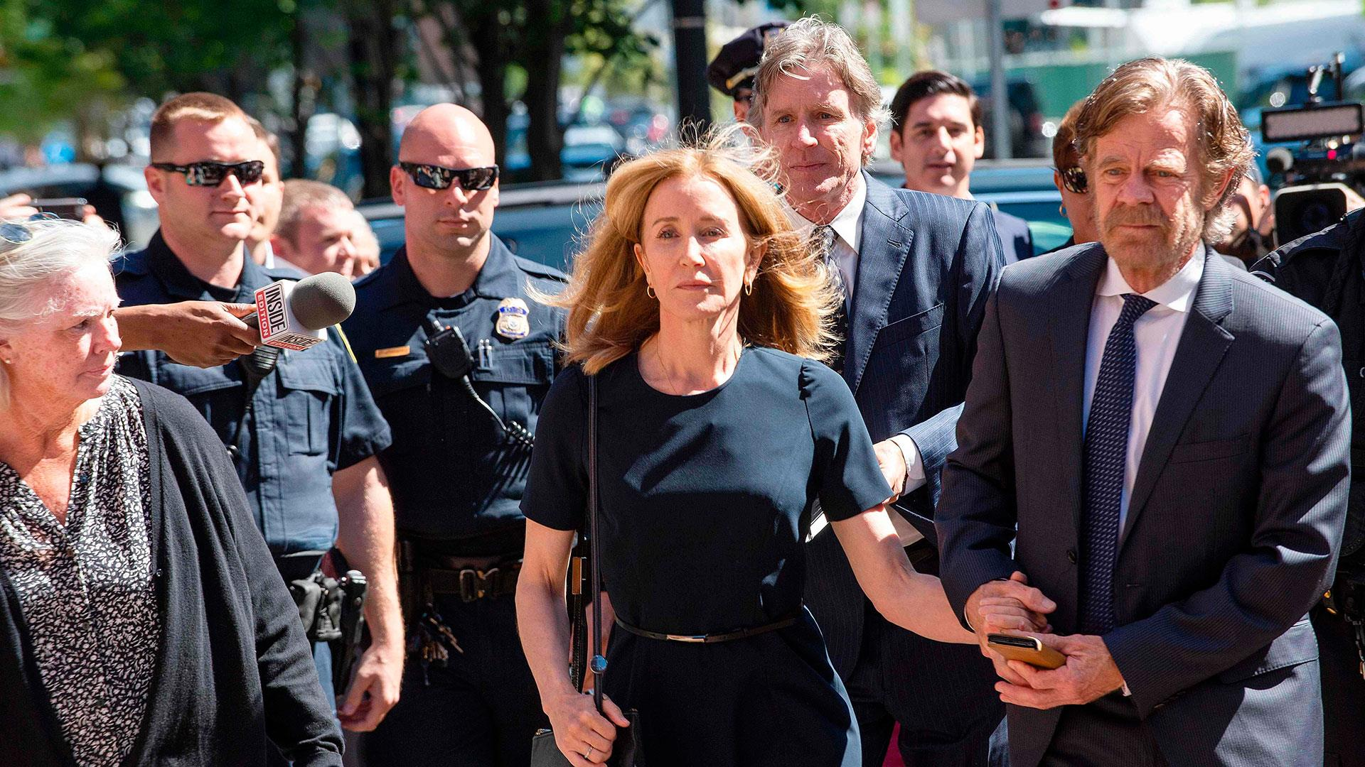 Felicity Huffman sentenced to 14 days in prison and community service