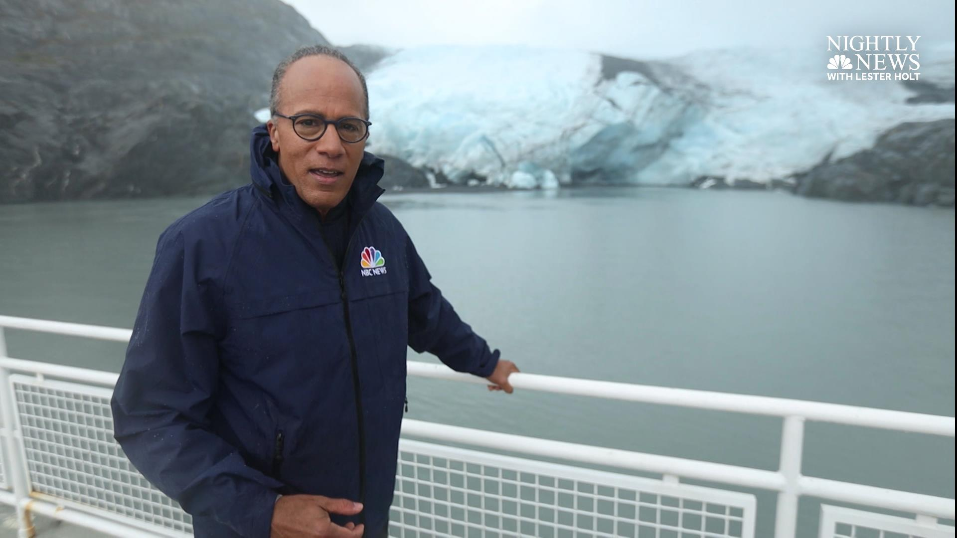 Climate in Crisis: Lester Holt reports from Portage Glacier