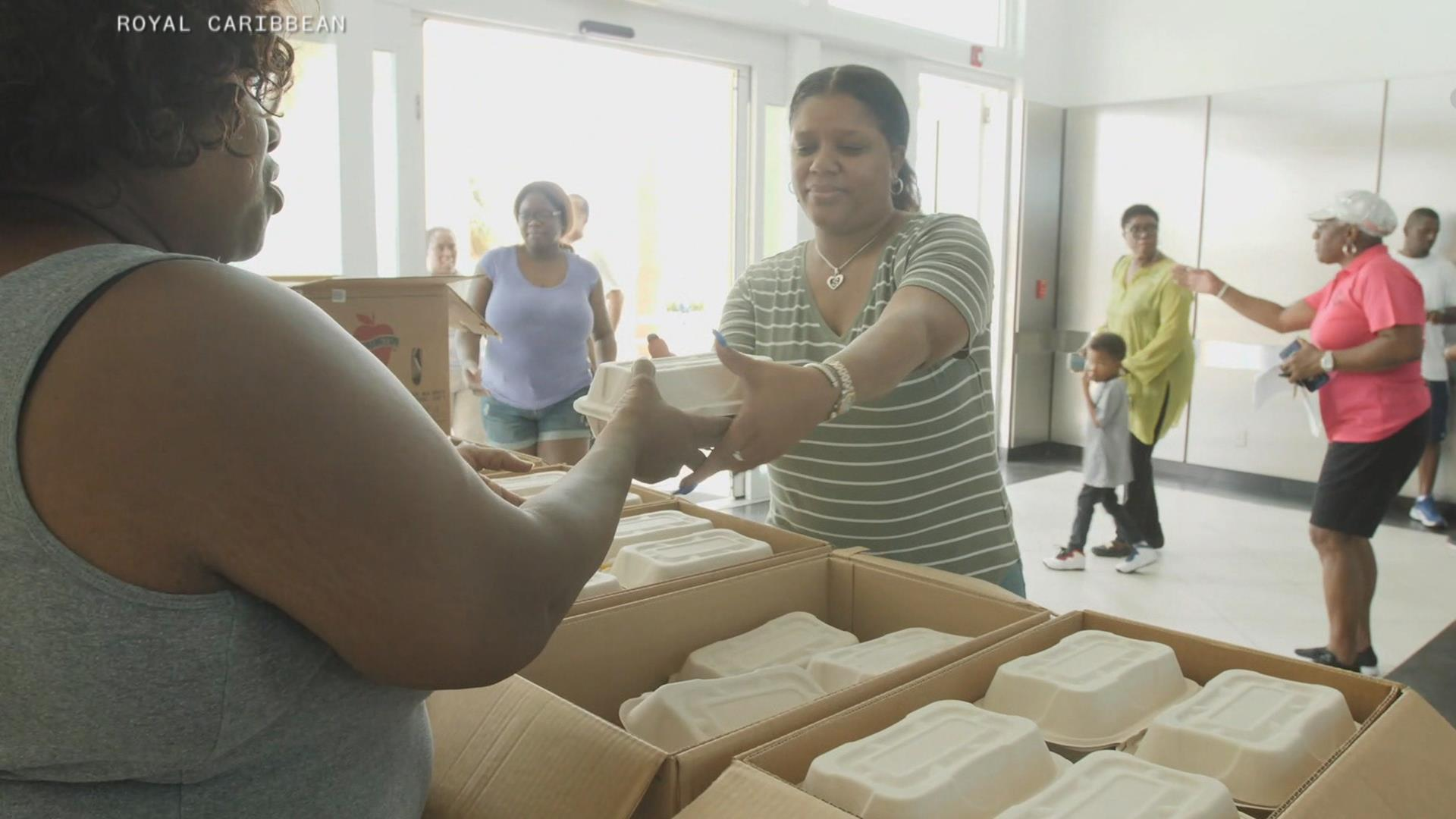 After Hurricane Dorian, Celebrity cruise ship in Bahamas reroutes to deliver food, aid