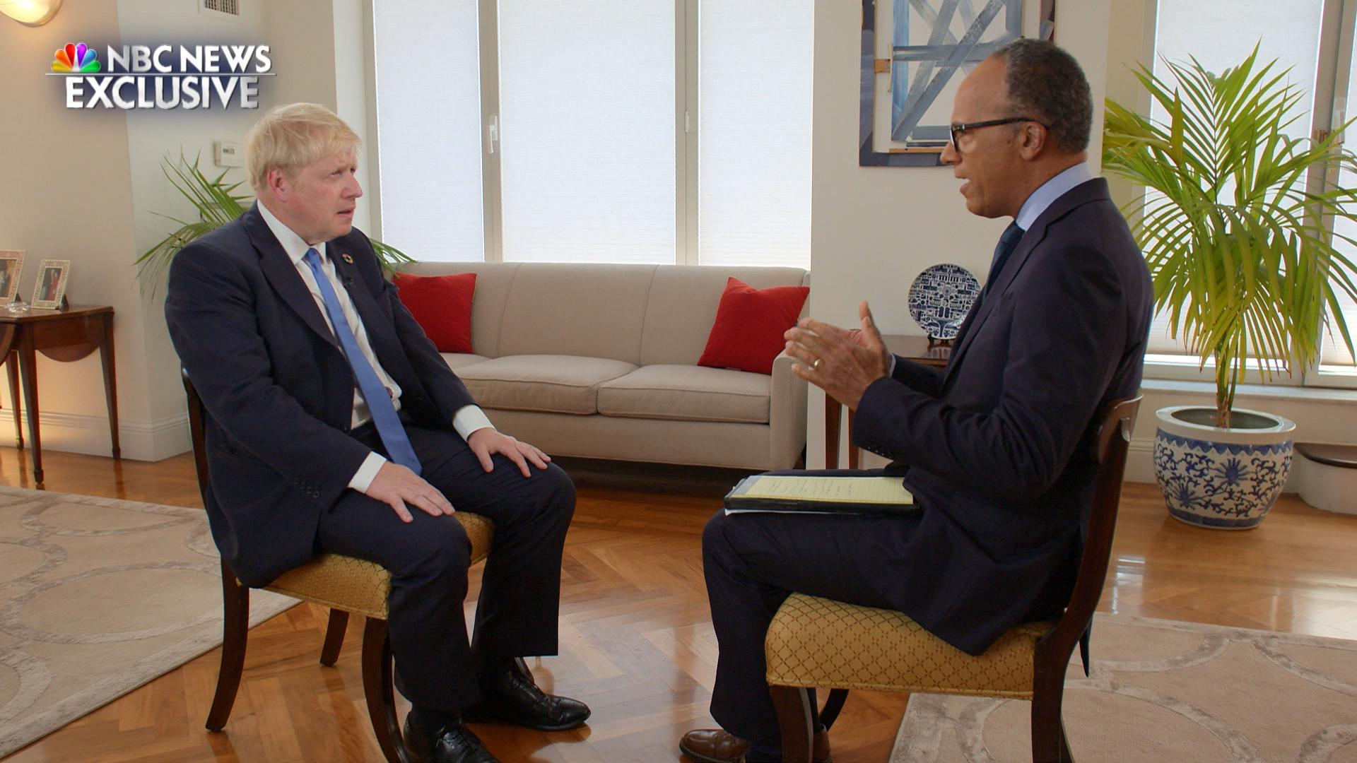 Boris Johnson calls for new Iran nuclear deal, says Trump is the 'one guy' to get it done
