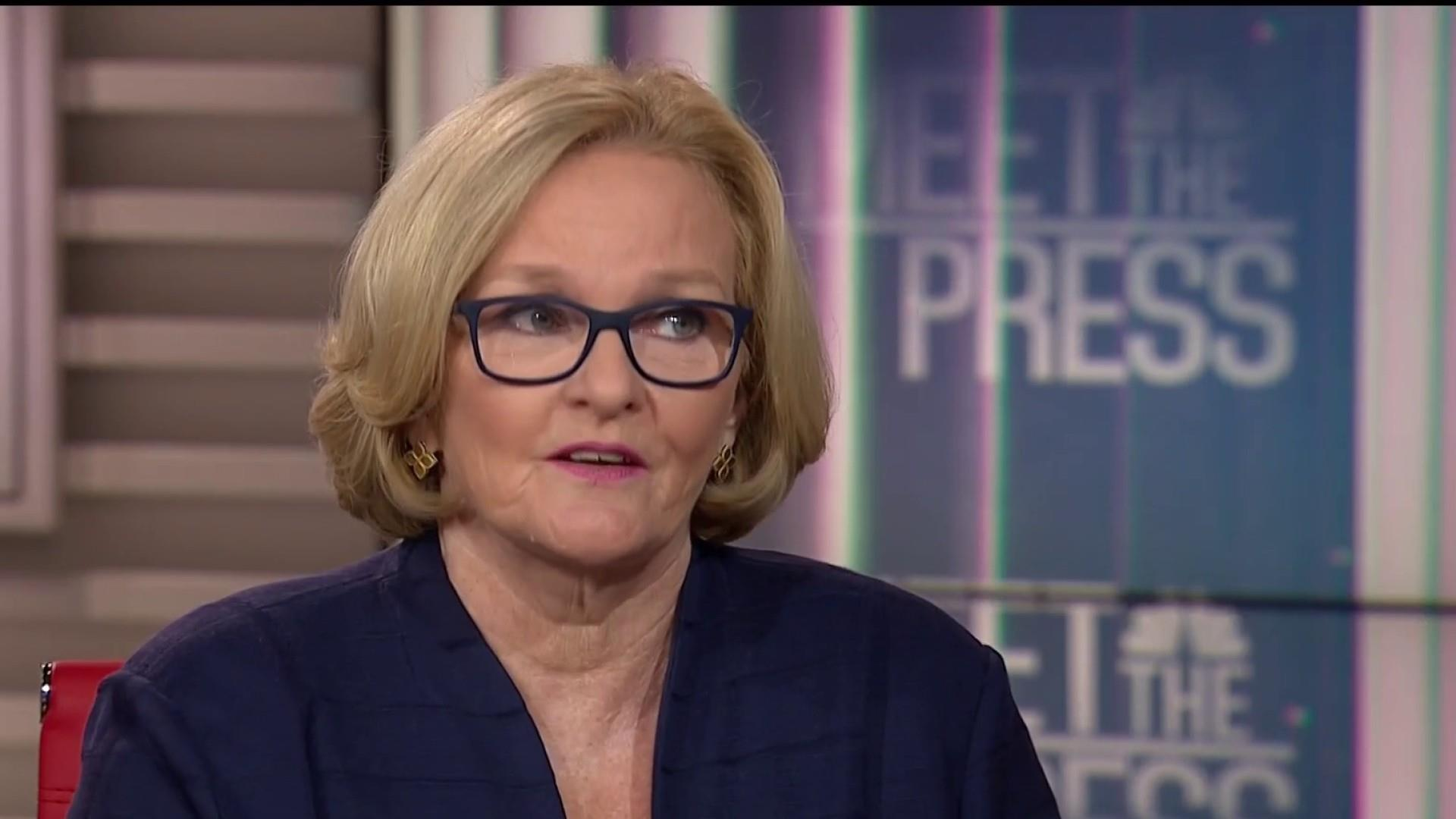 McCaskill: Kavanaugh confirmation 'crystallized how bad Washington is'