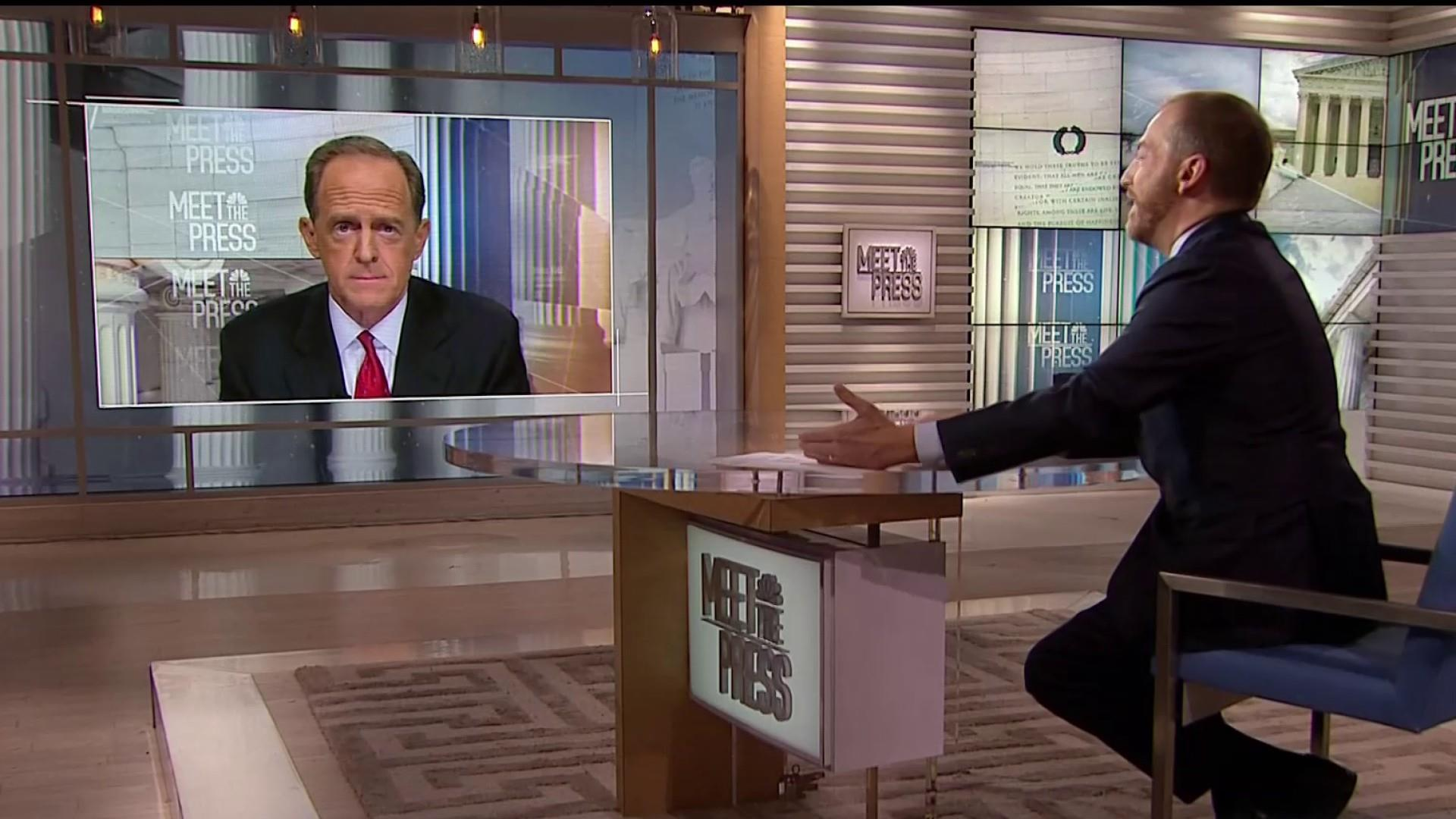 Toomey on guns: 'Beto O'Rourke is not helping'