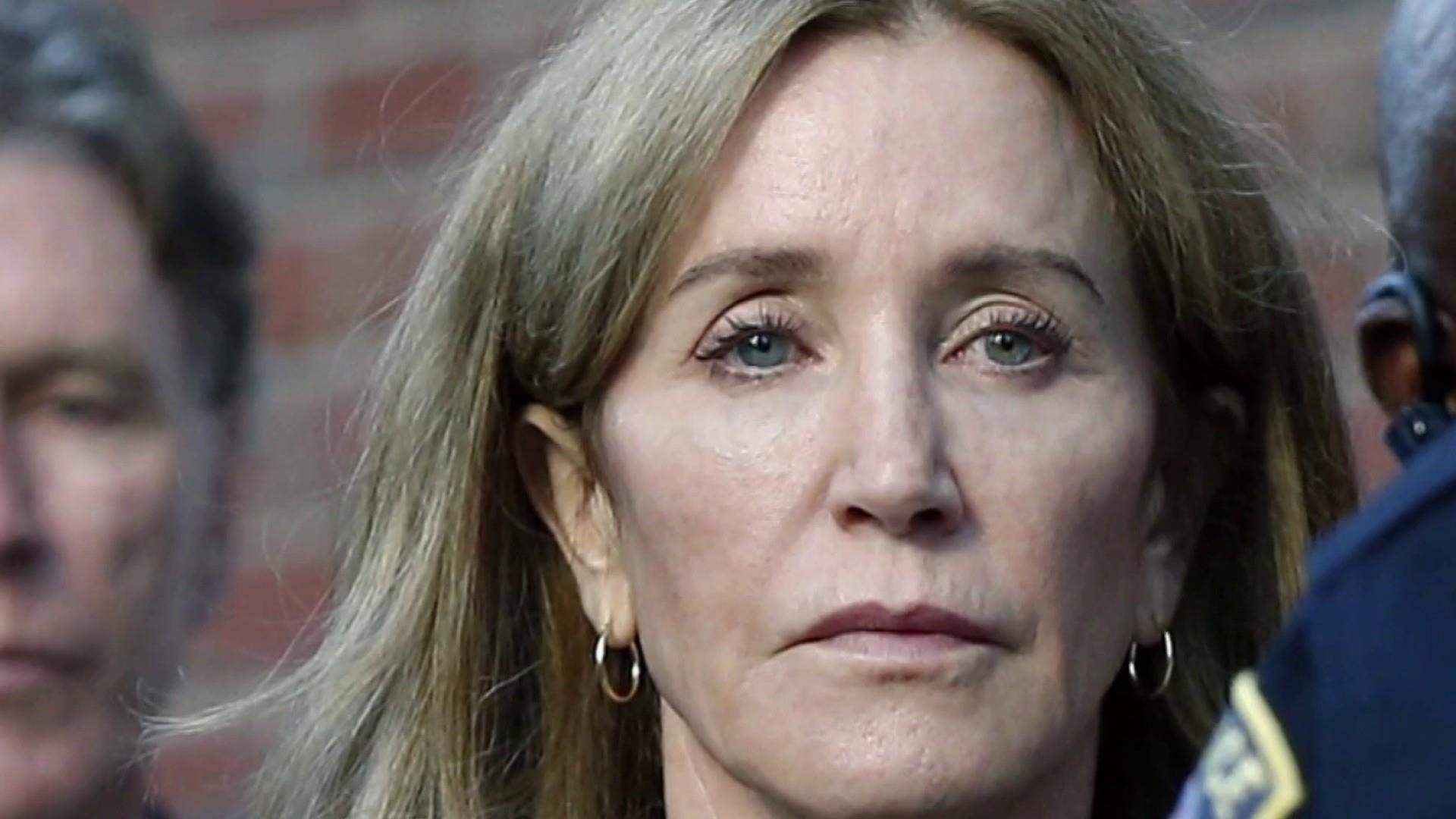 Public backlash over Felicity Huffman's 14-day sentence