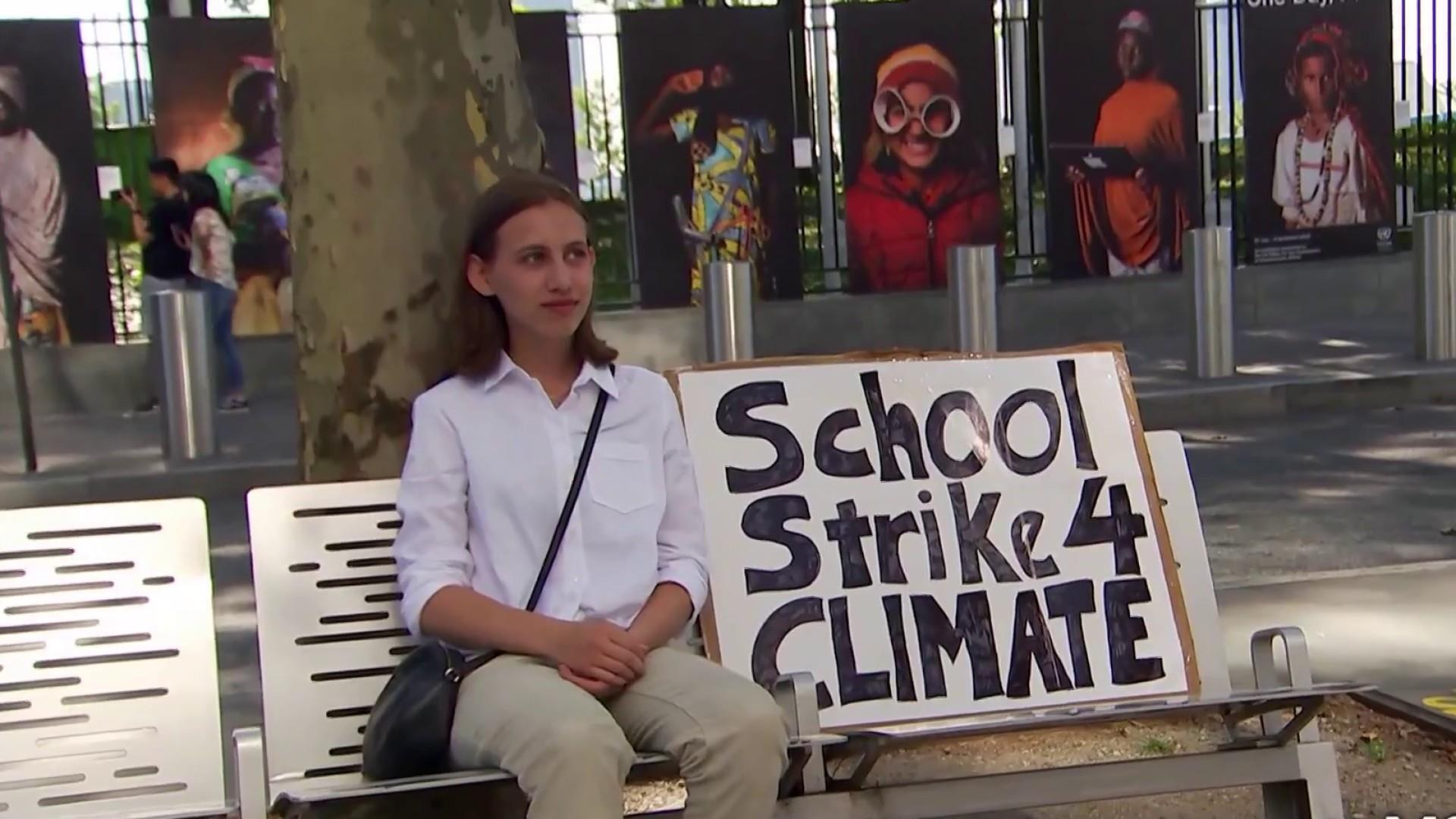 Students taking lead on protesting climate crisis