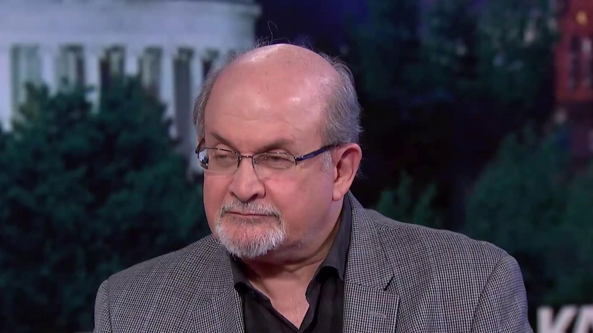 Acclaimed author Salman Rushdie joins Kasie DC