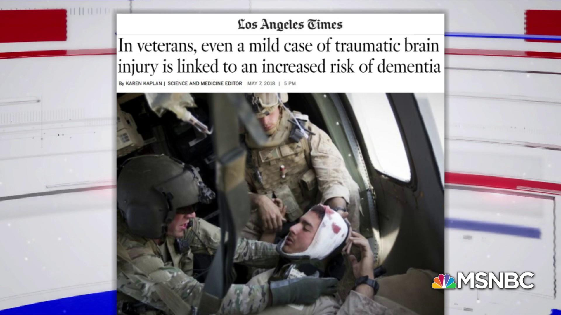 New Study: Veterans at greater risk for Dementia and Alzheimer's