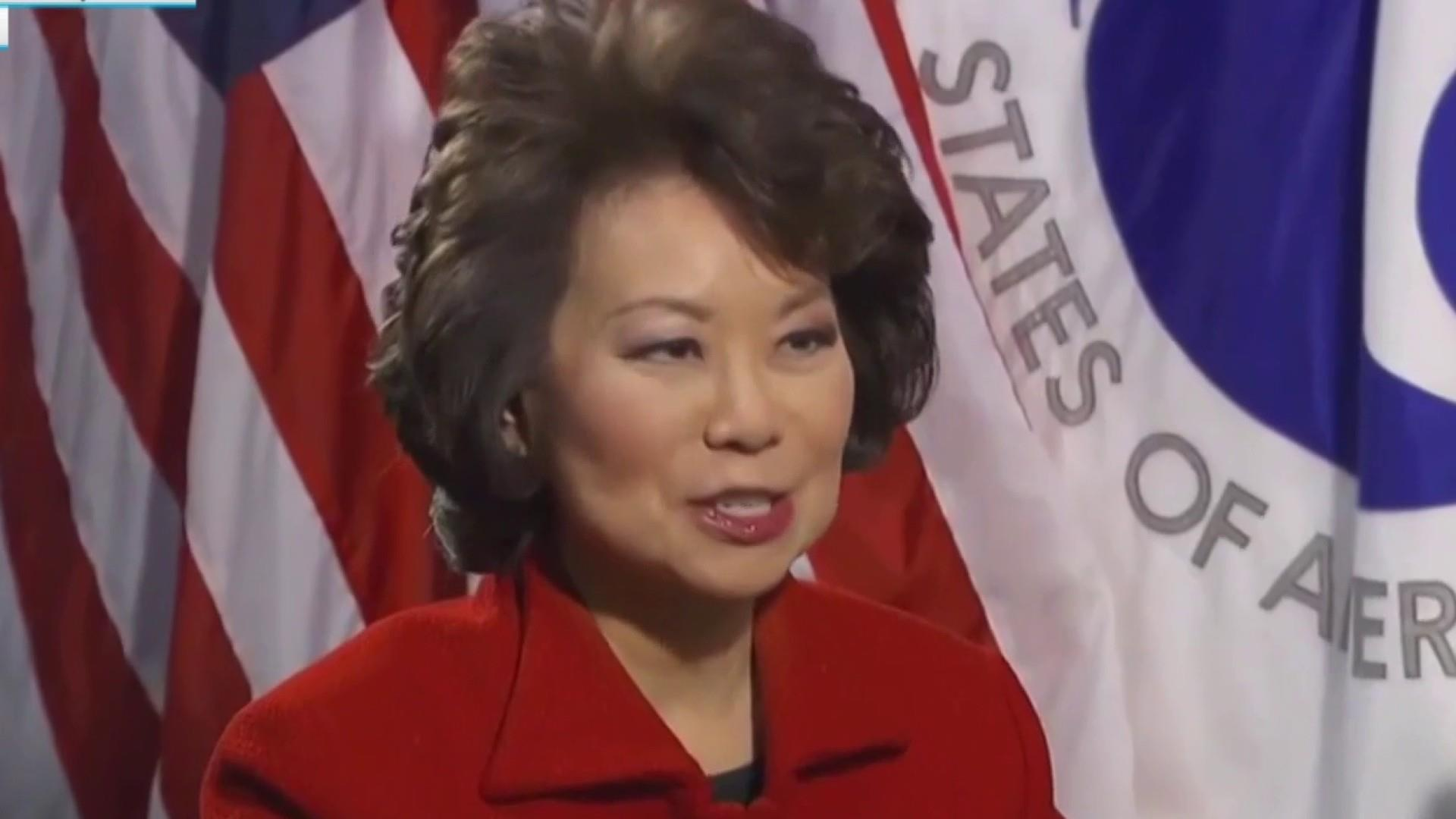 House probing Chao on questions of conflict with family business