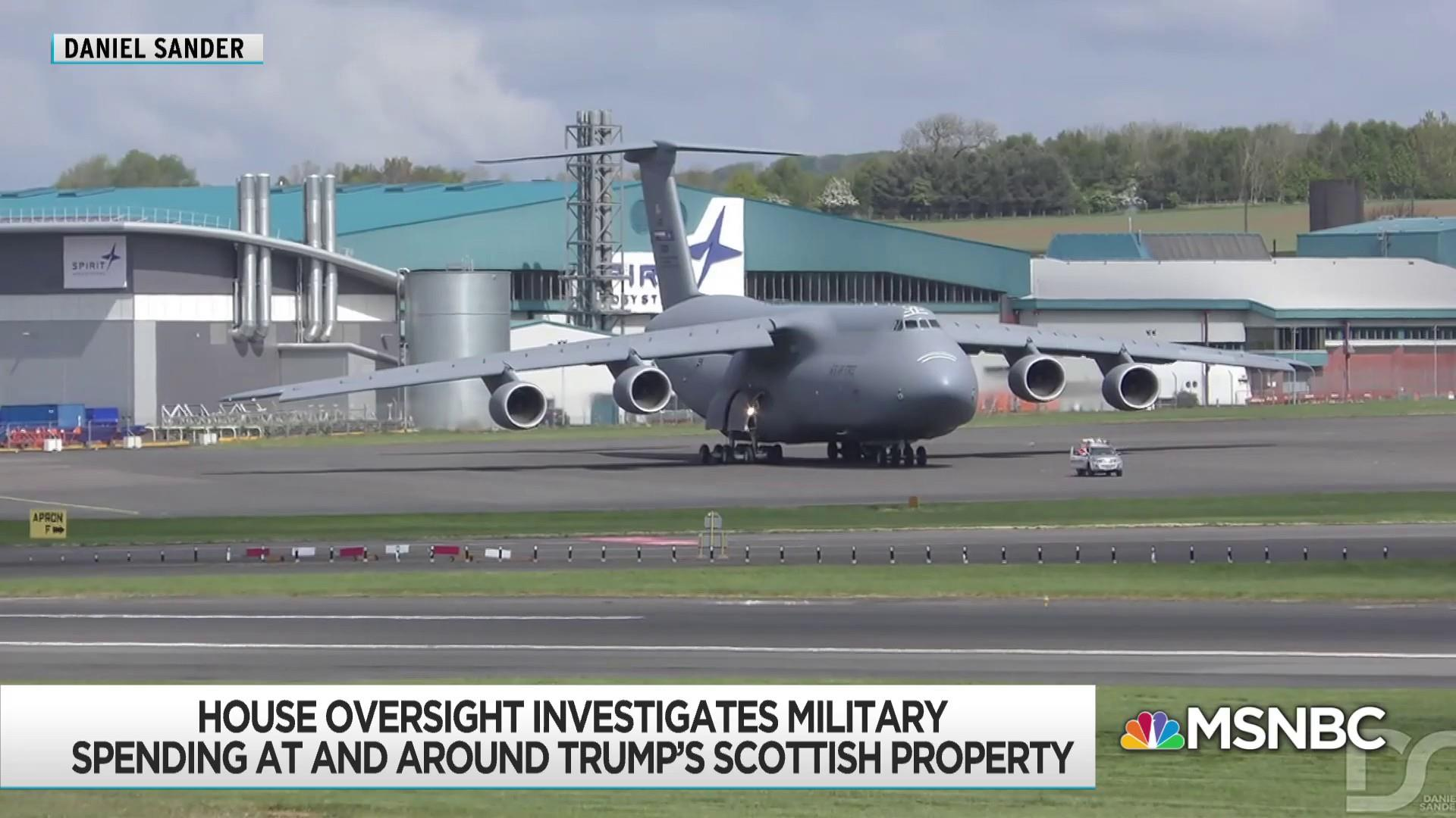Trump relationship with Scottish airport exposed in documents