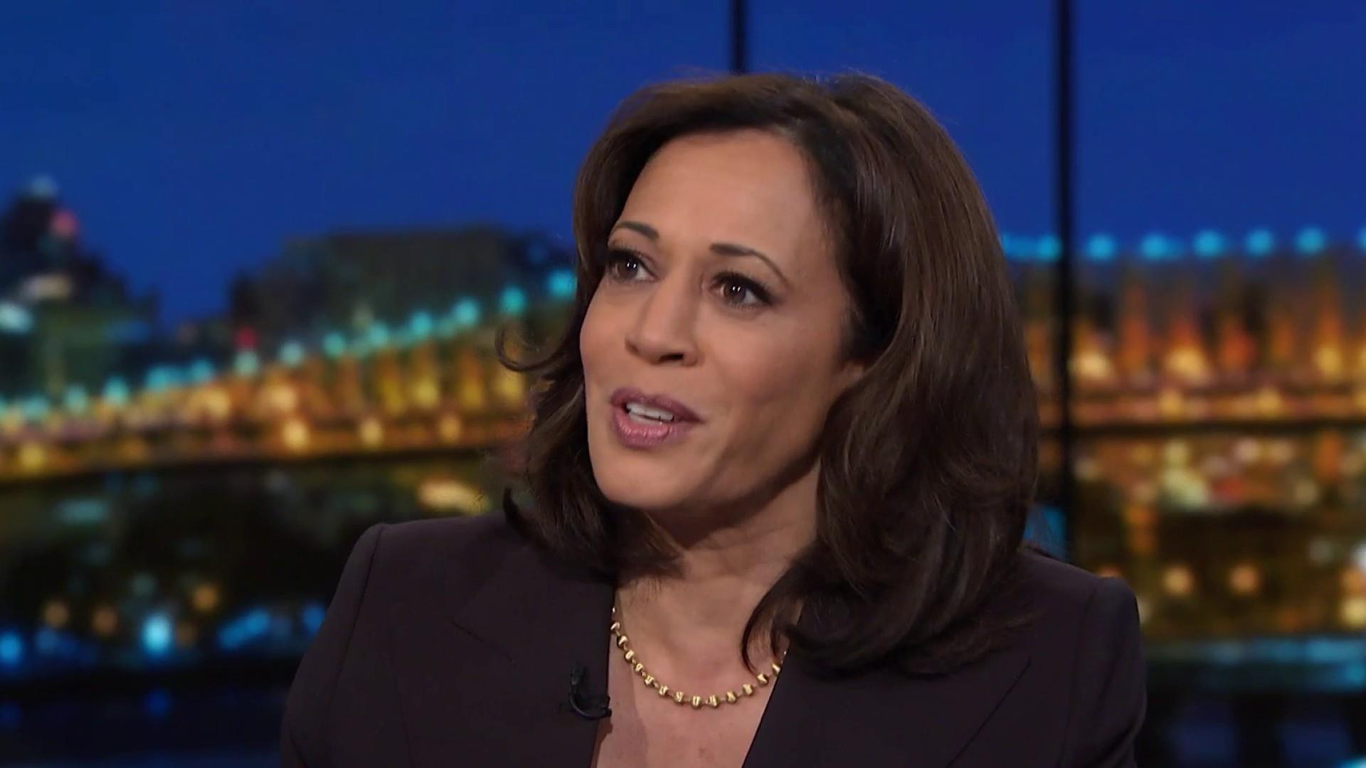 Harris makes case against Trump's long political rap sheet