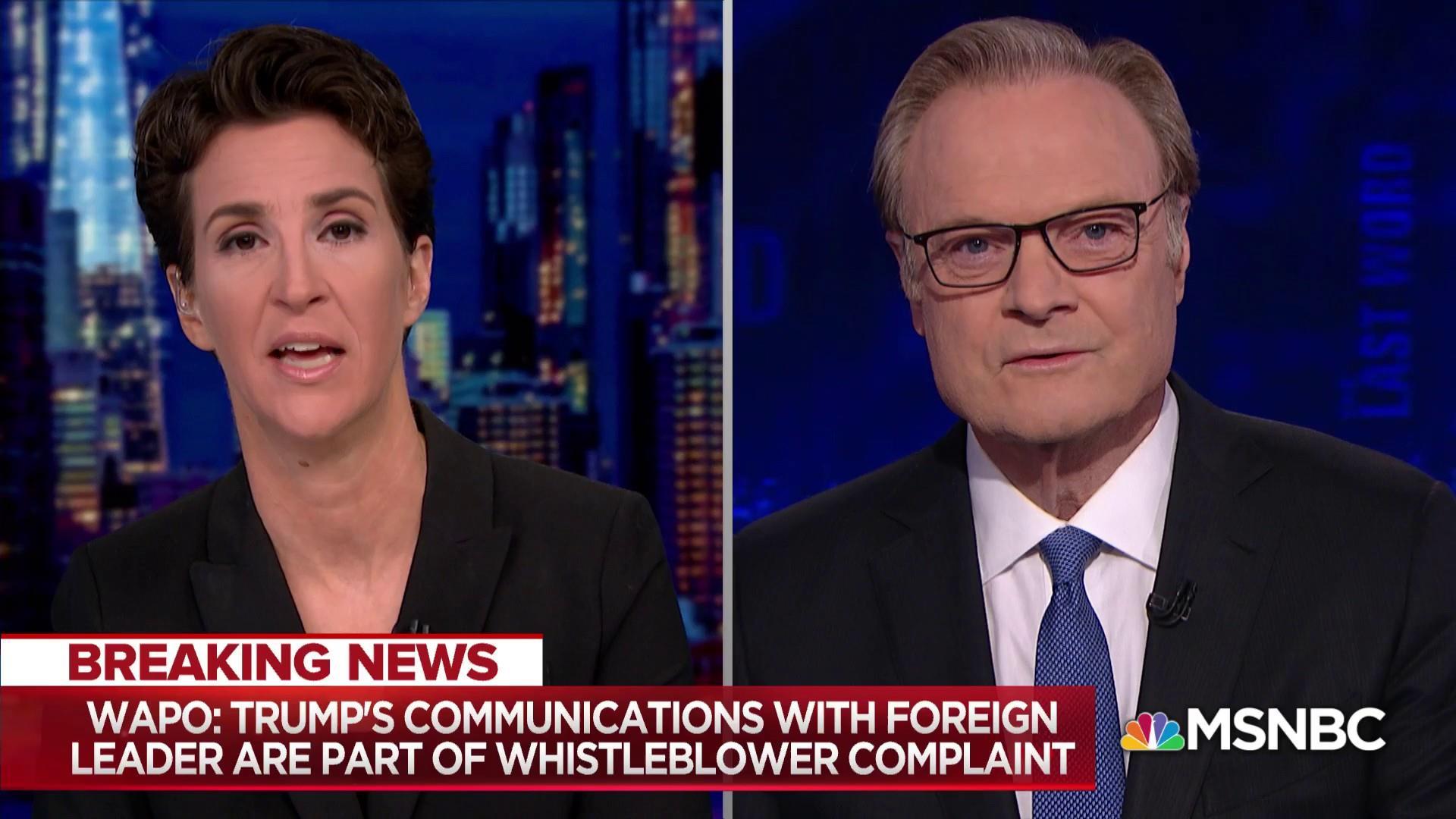 Trump admin antics exposes good faith whistleblower to risk