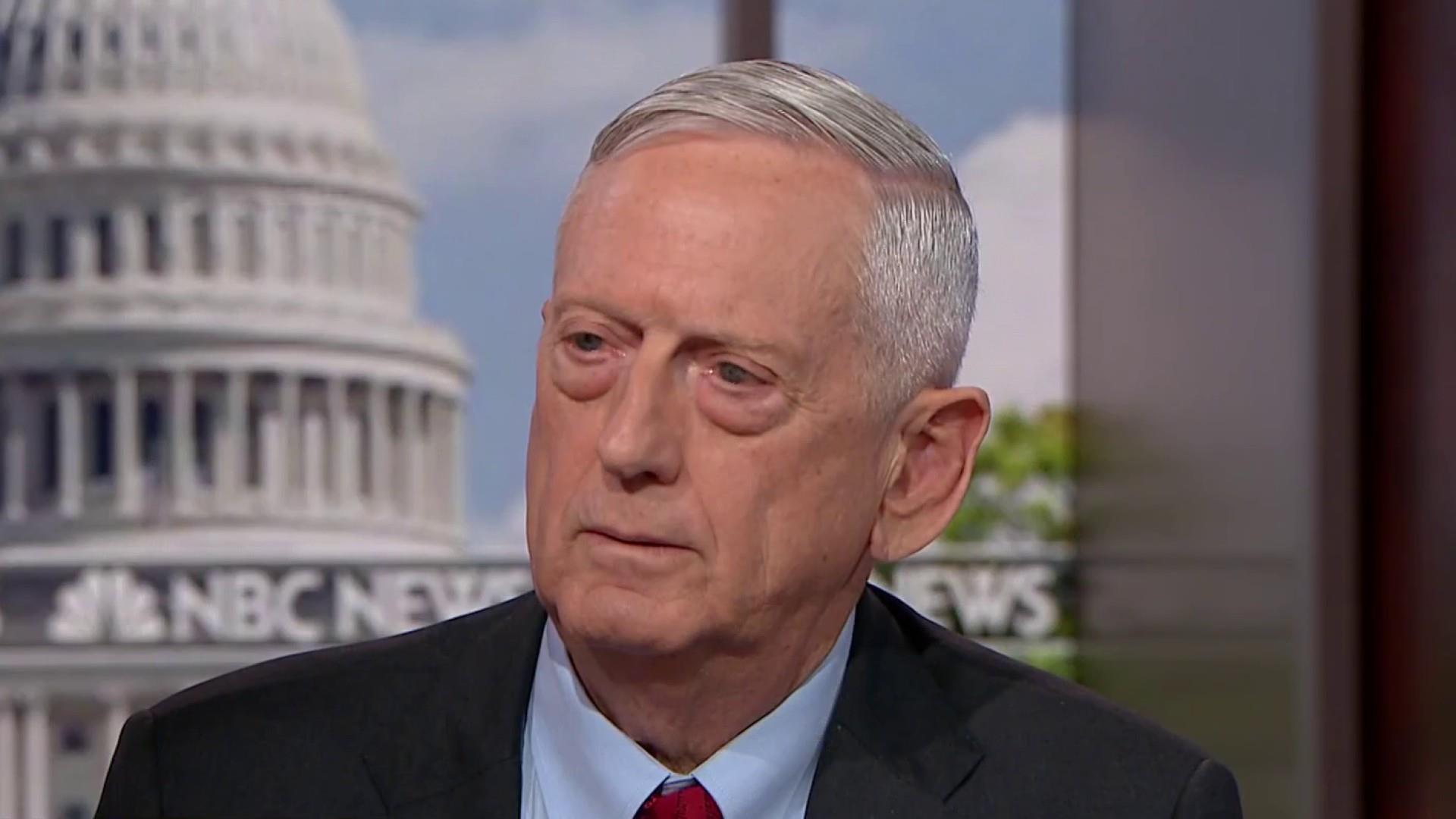 Gen. Jim Mattis on the 'enormous' challenge of pending peace deal between U.S., Taliban