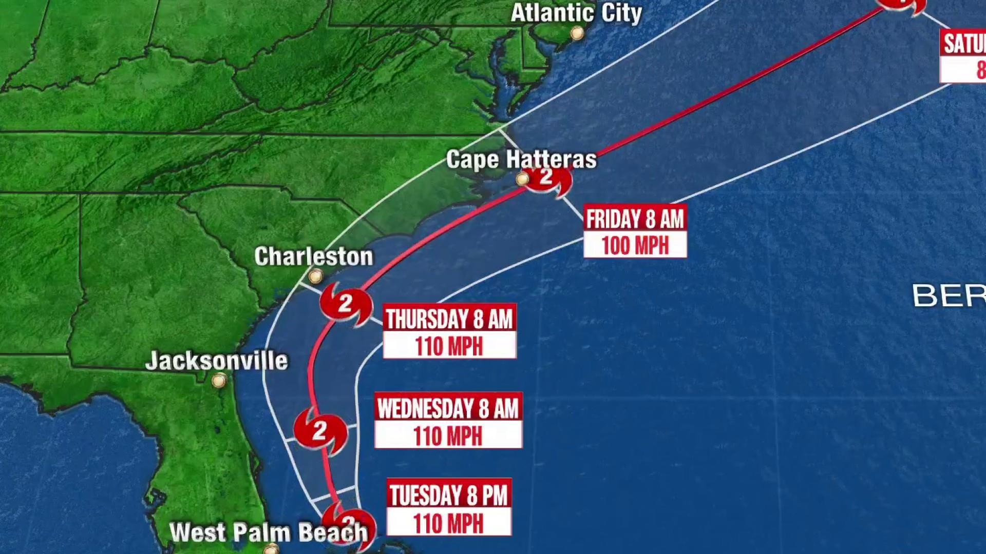Ahead of Hurricane Dorian, mandatory evacuations begin in North Carolina