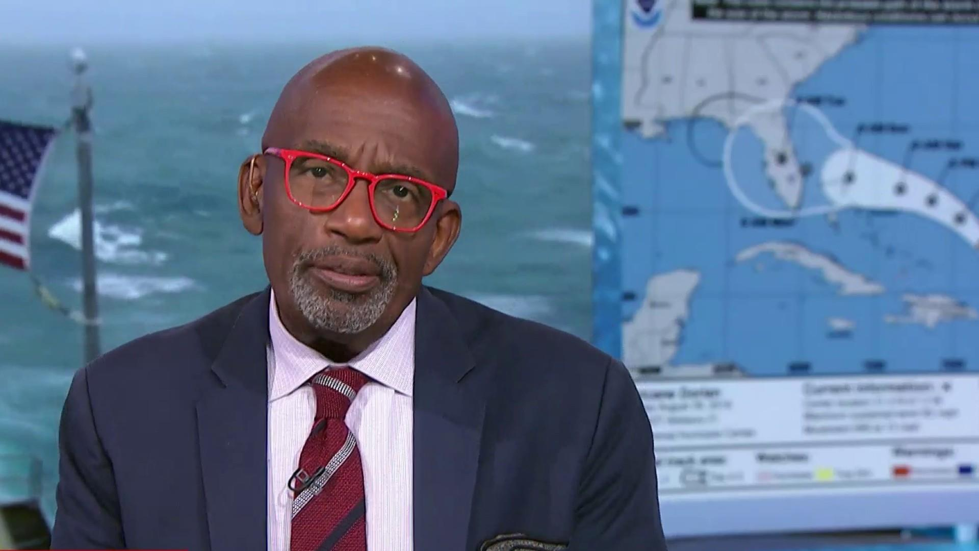 Al Roker: Sharpiegate is a distraction. Let's move on.