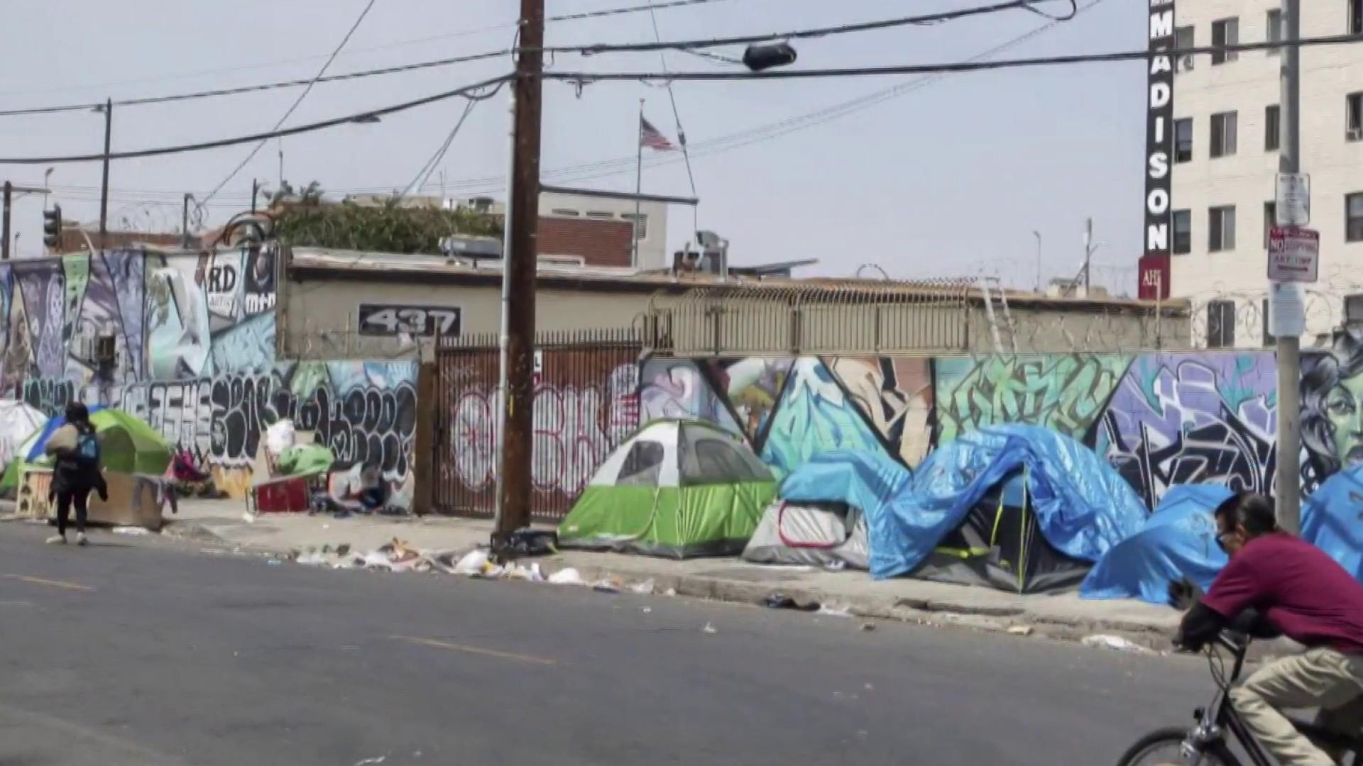 Homeless families in Calif. react to Trump's remarks