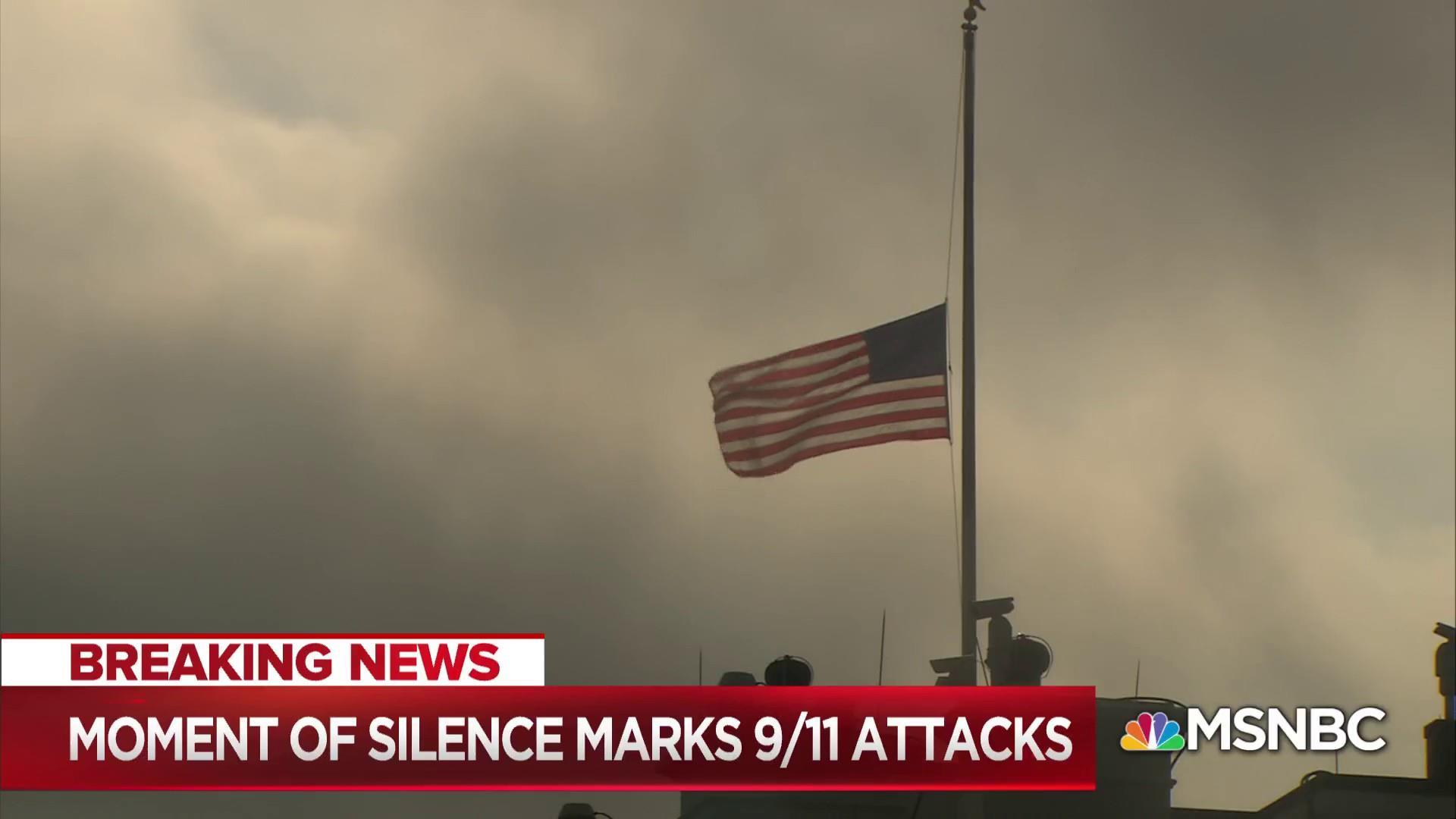 Morning Joe observes moment of silence for 9/11