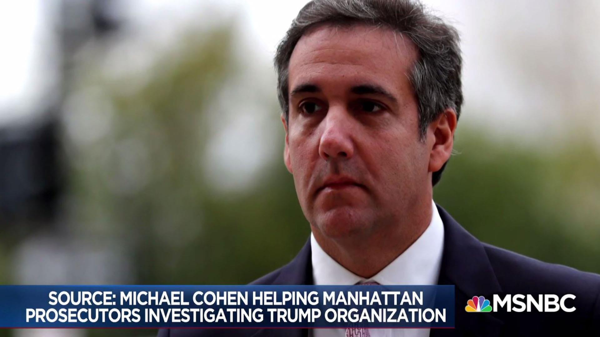 Michael Cohen helping Manhattan DA investigate Trump org: Source