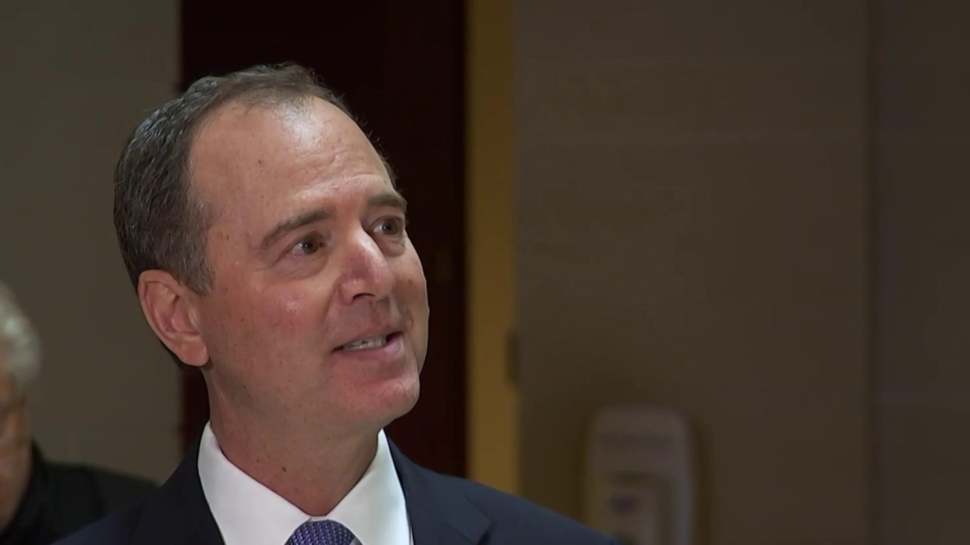 Schiff claims 'urgent' information from whistleblower is being withheld