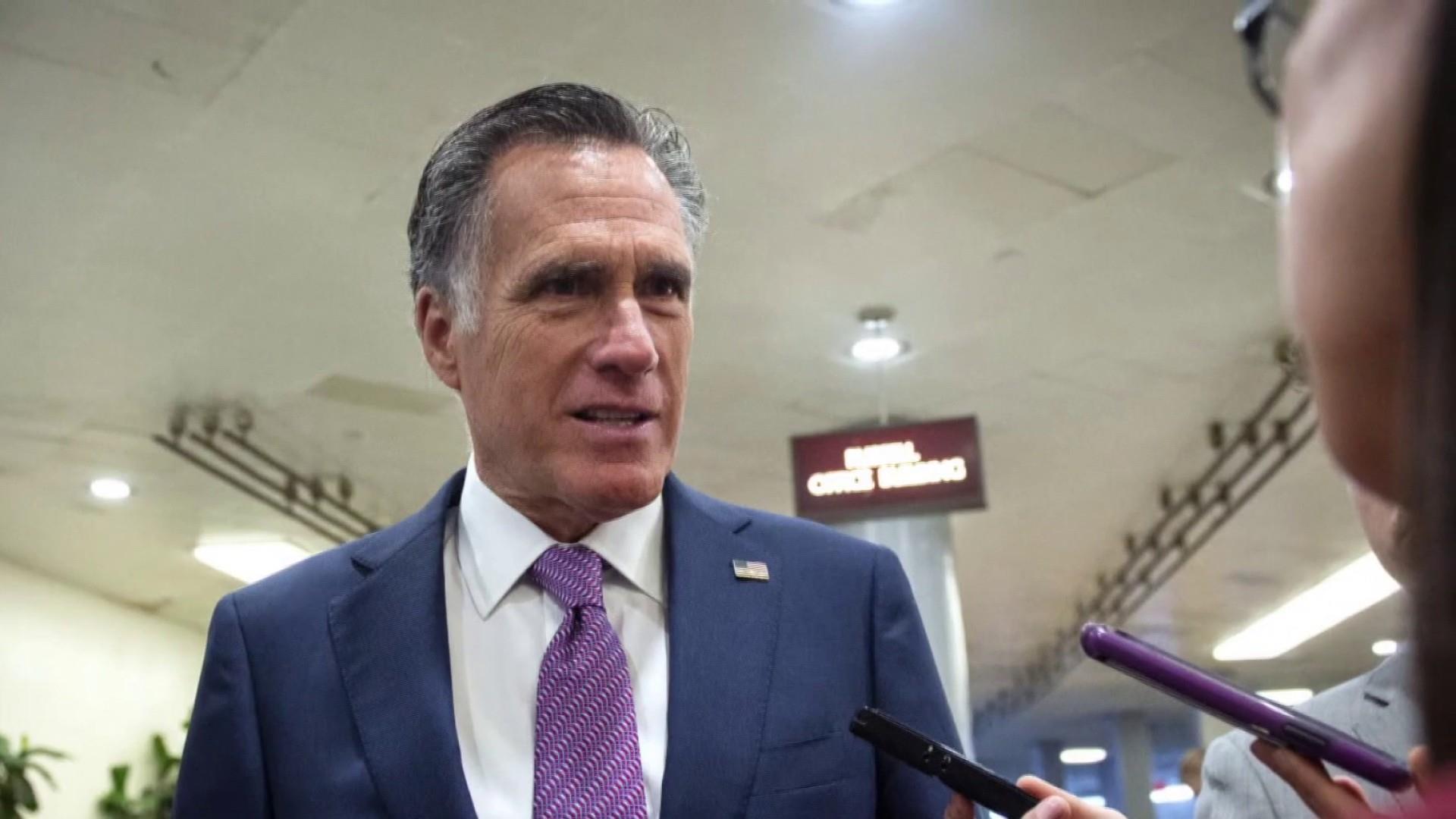 Republican Senator Mitt Romney won't endorse President Trump for re-election