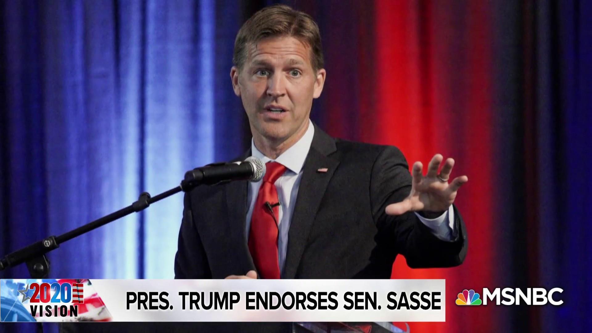 Trump-critic Sasse gets president's endorsement
