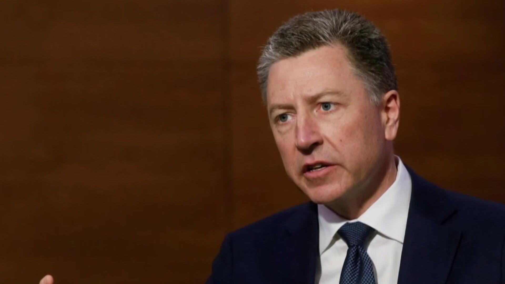 BREAKING: Former envoy to Ukraine Kurt Volker plans to testify Thursday