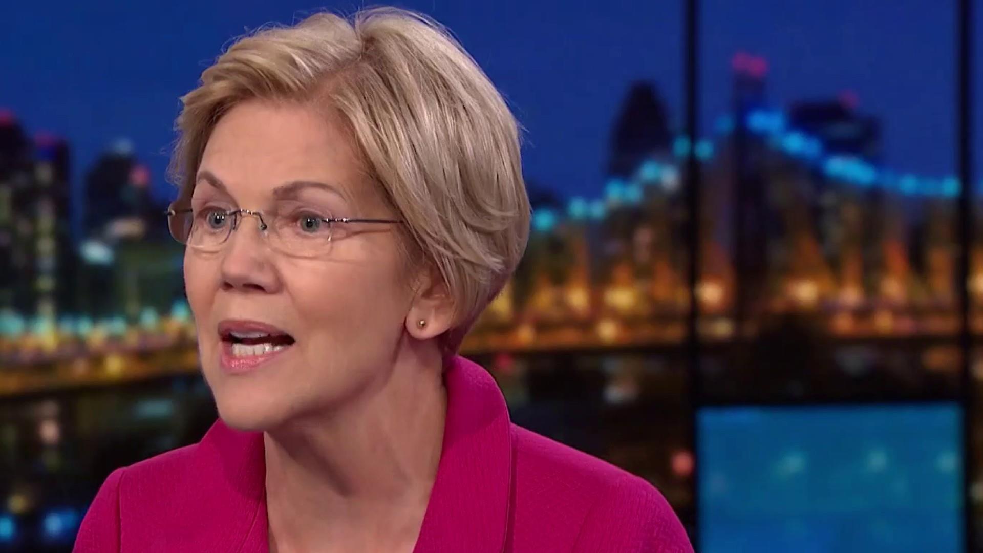 NBC/WSJ Poll: Warren has edge in 'enthusiasm'