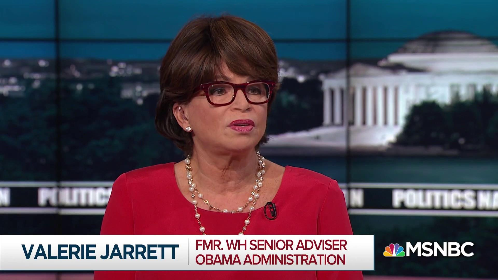 Valerie Jarrett: Candidates at their Strongest When They Build on [Obama] Legacy