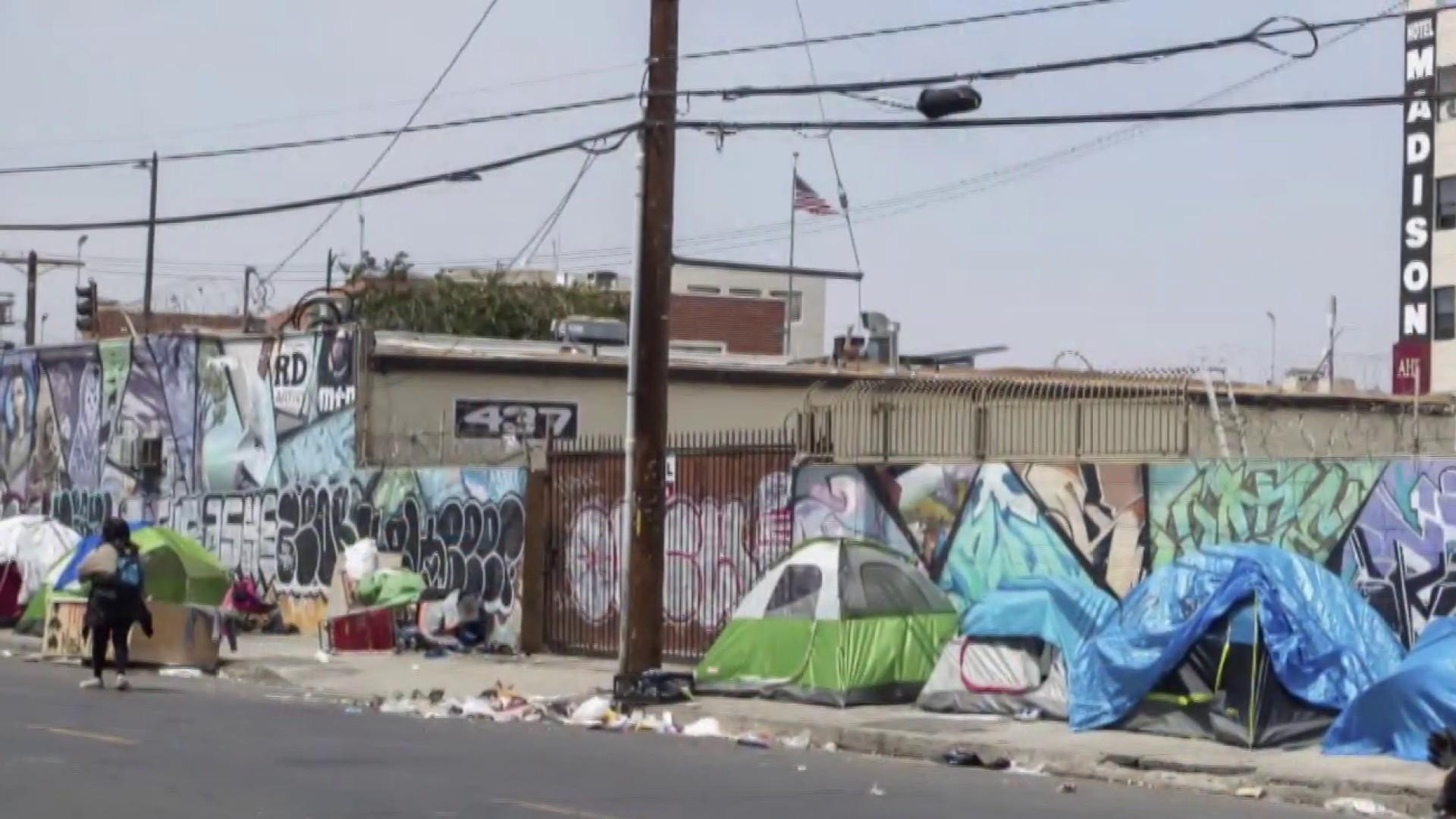 Trump officials eye former FAA facility to relocate homeless people in California