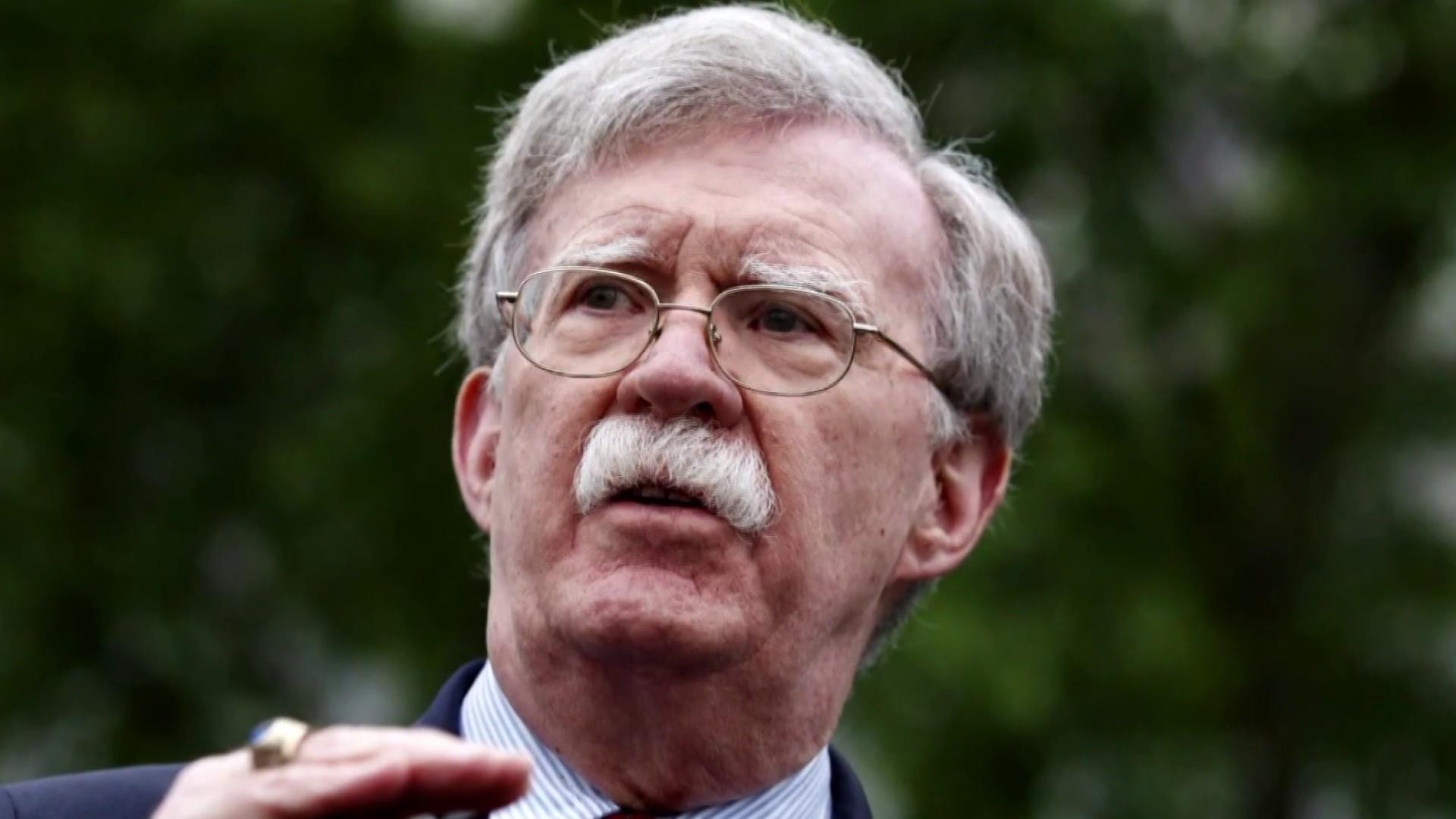 John Bolton's departure from the White House has the 3 pillars of Trumpian exits