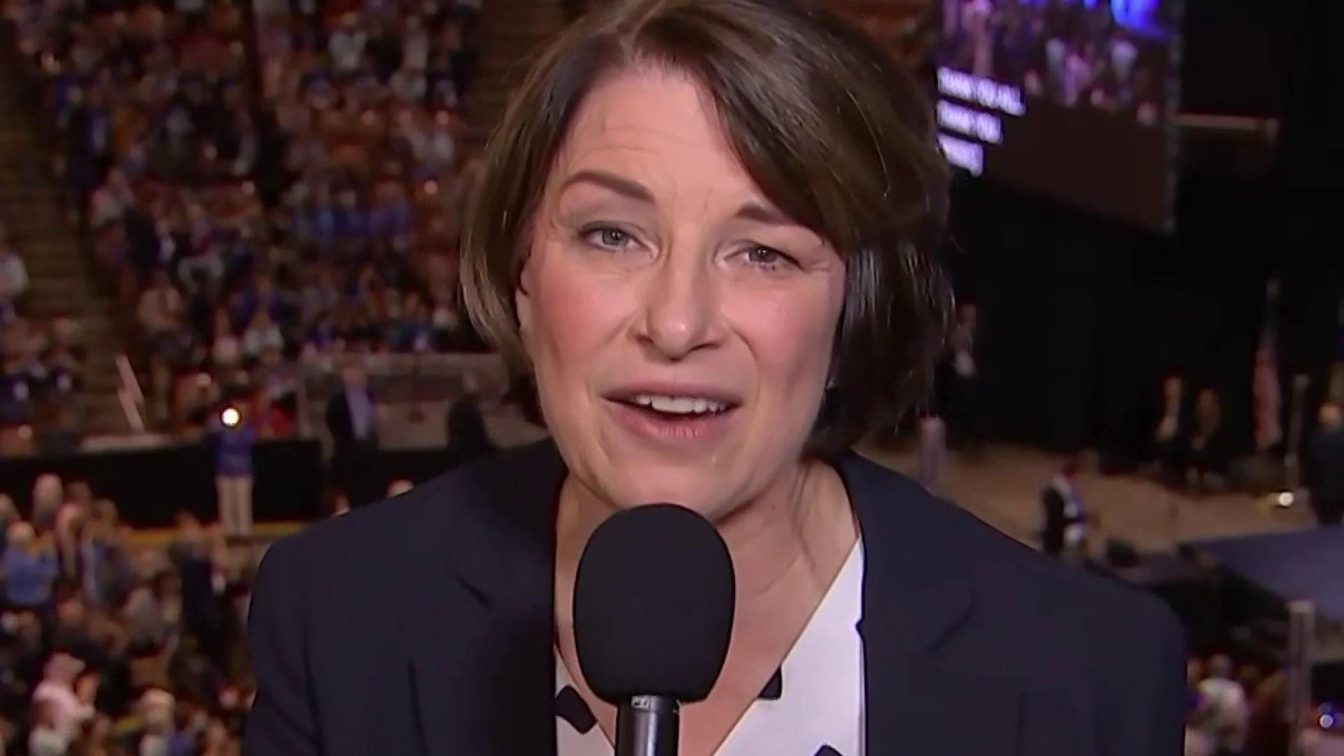 Amy Klobuchar to Dems: 'We don't just want to win, we want to win big'