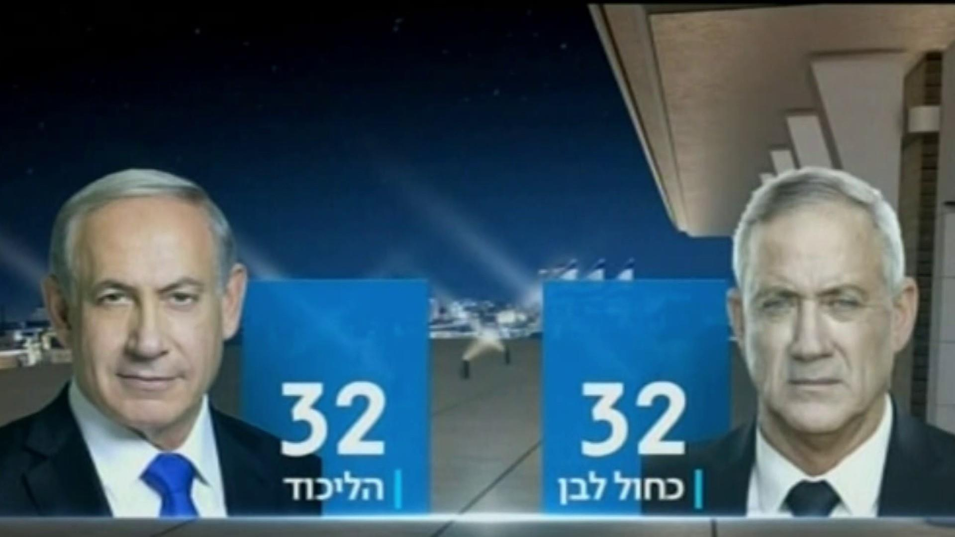 Netanyahu cancels trip to U.N. as he appears to fall short in Israel elections