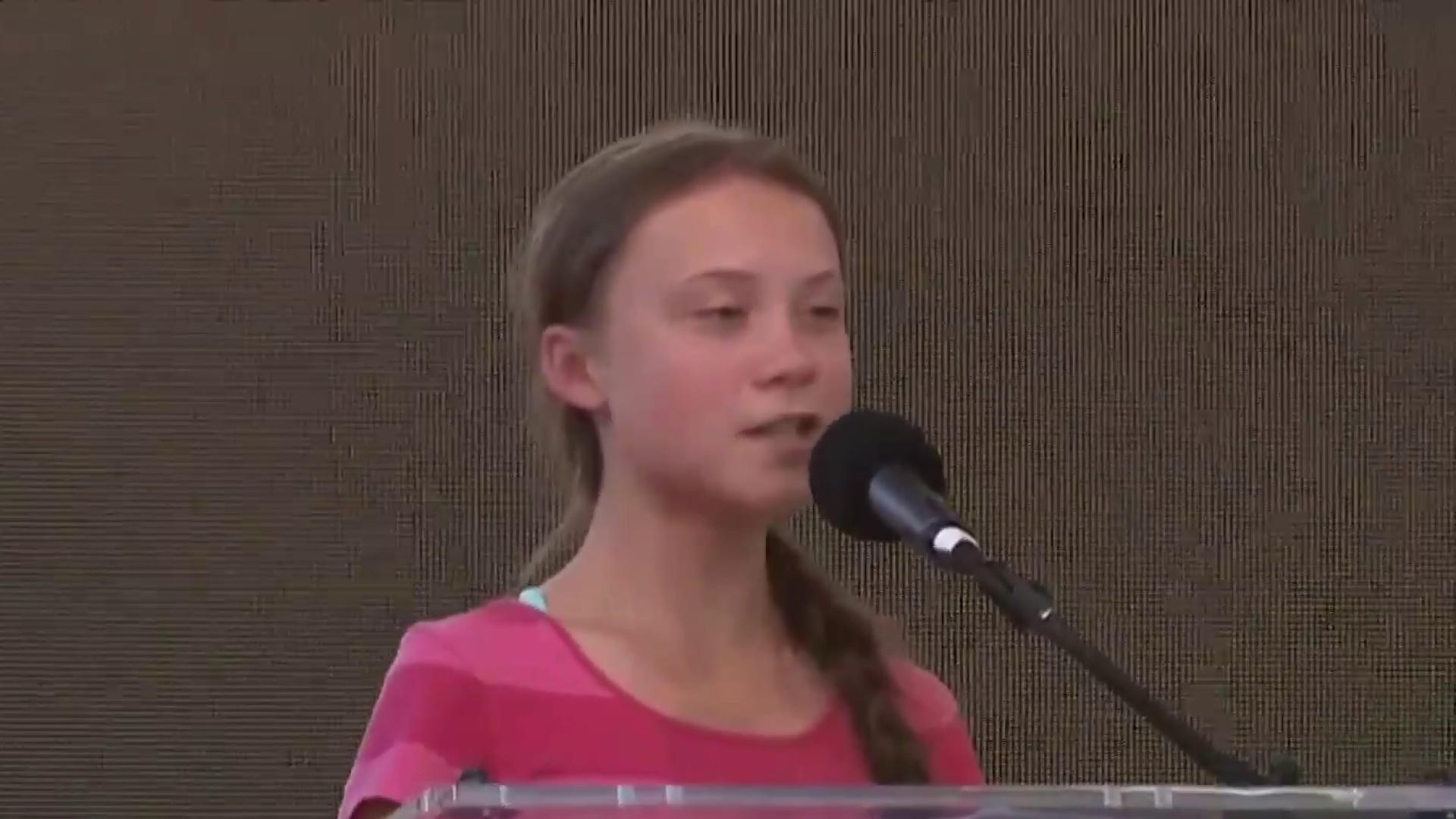 Teen activist Greta Thunberg leads global climate protest