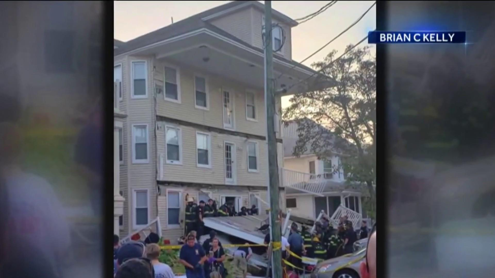 At least 21 injured when decks collapse during New Jersey firefighter event