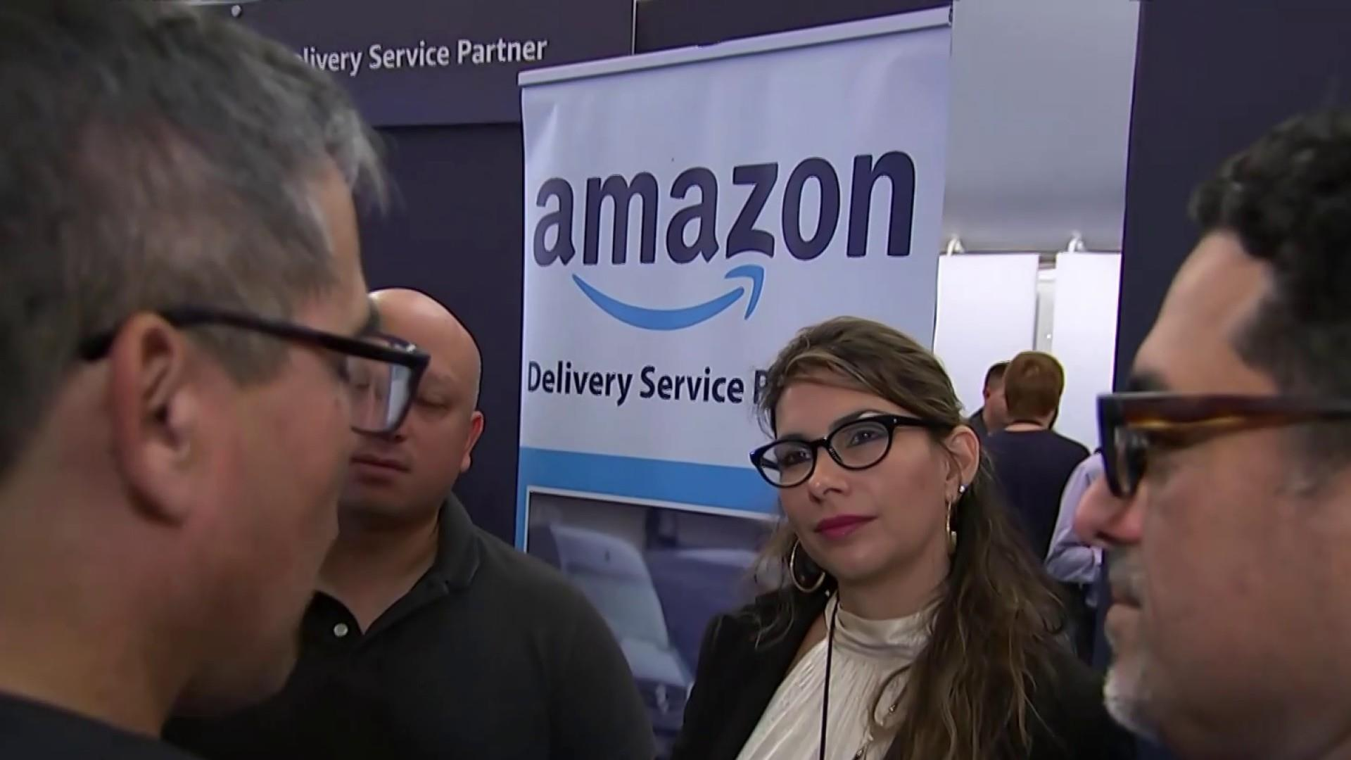 Amazon holds job fairs in 6 U.S. cities to fill tens of thousands of positions