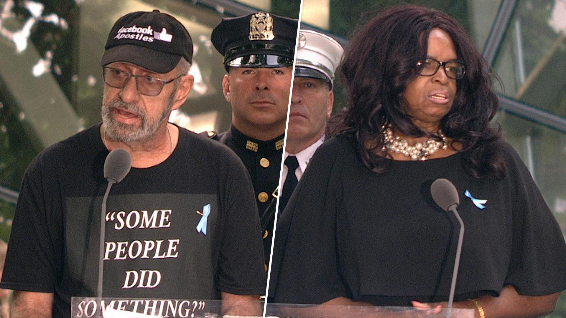 9/11 ceremony readers criticize Rep. Omar, call for gun control