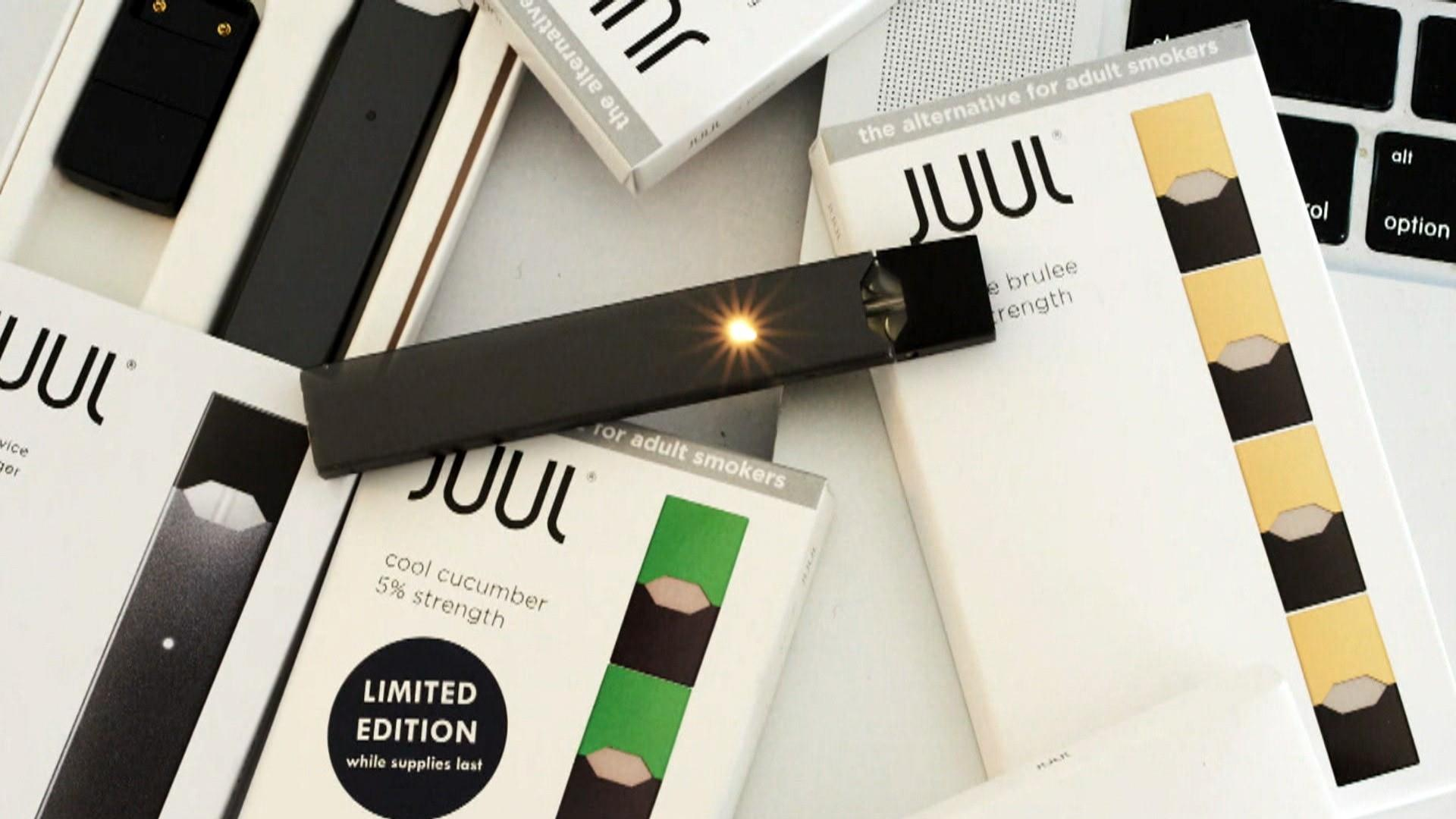 Juul illegally marketed products as safer than cigarettes, FDA says