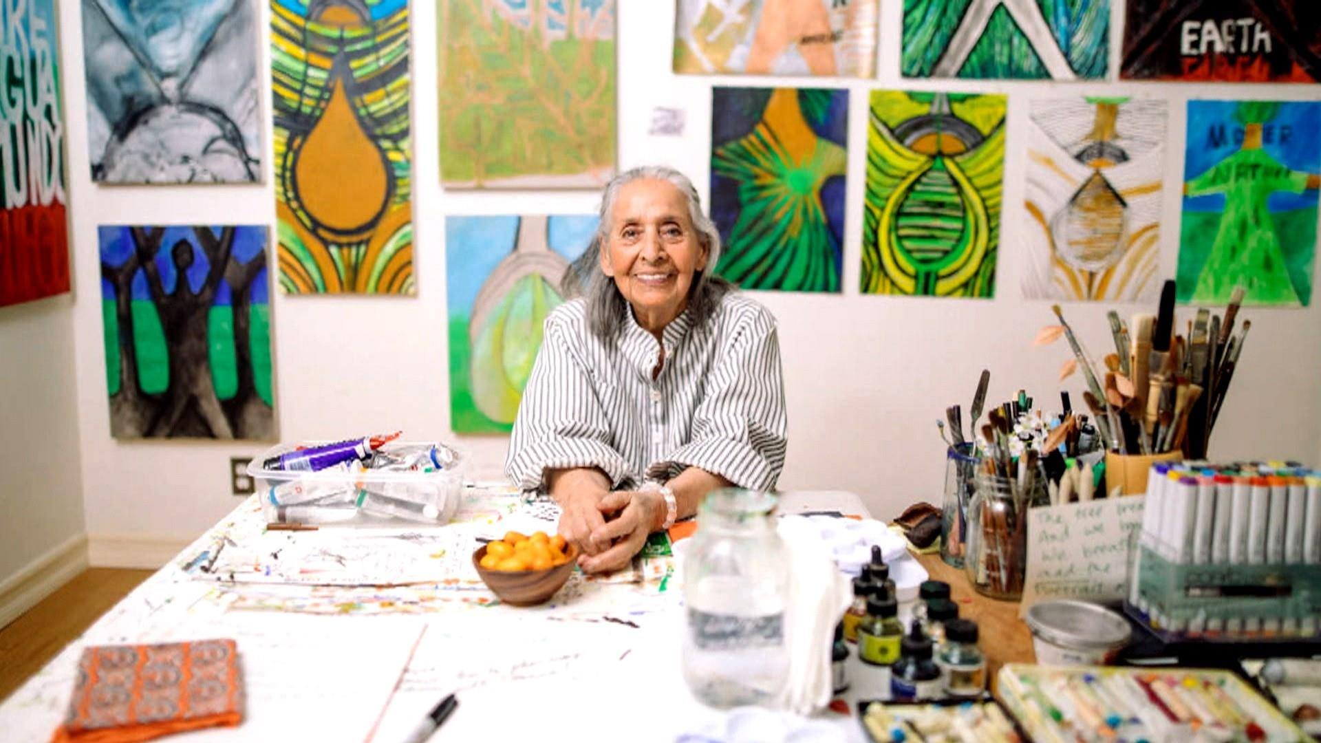 How a 99-year-old artist became an overnight success