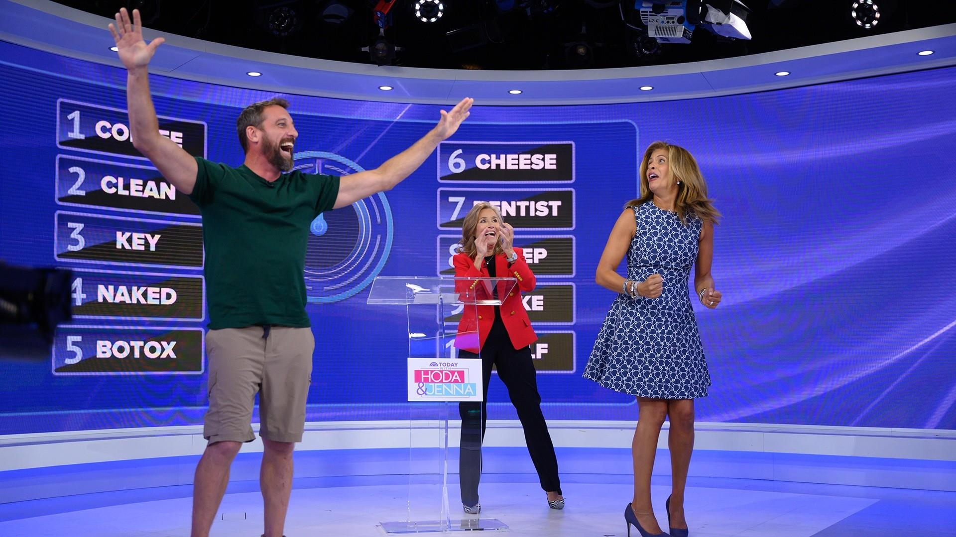 Meredith Vieira plays '25 Words of Less' with a TODAY fan