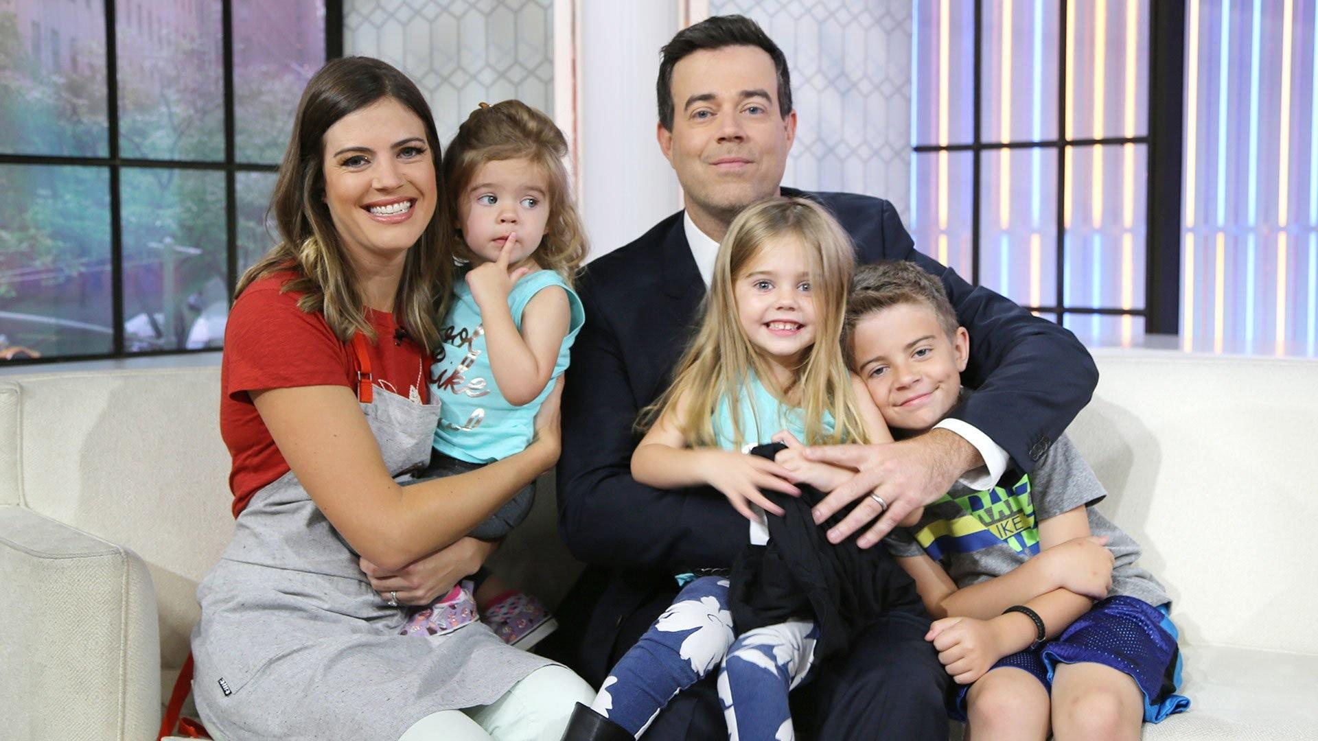 Carson Daly and wife Siri are expecting baby No. 4