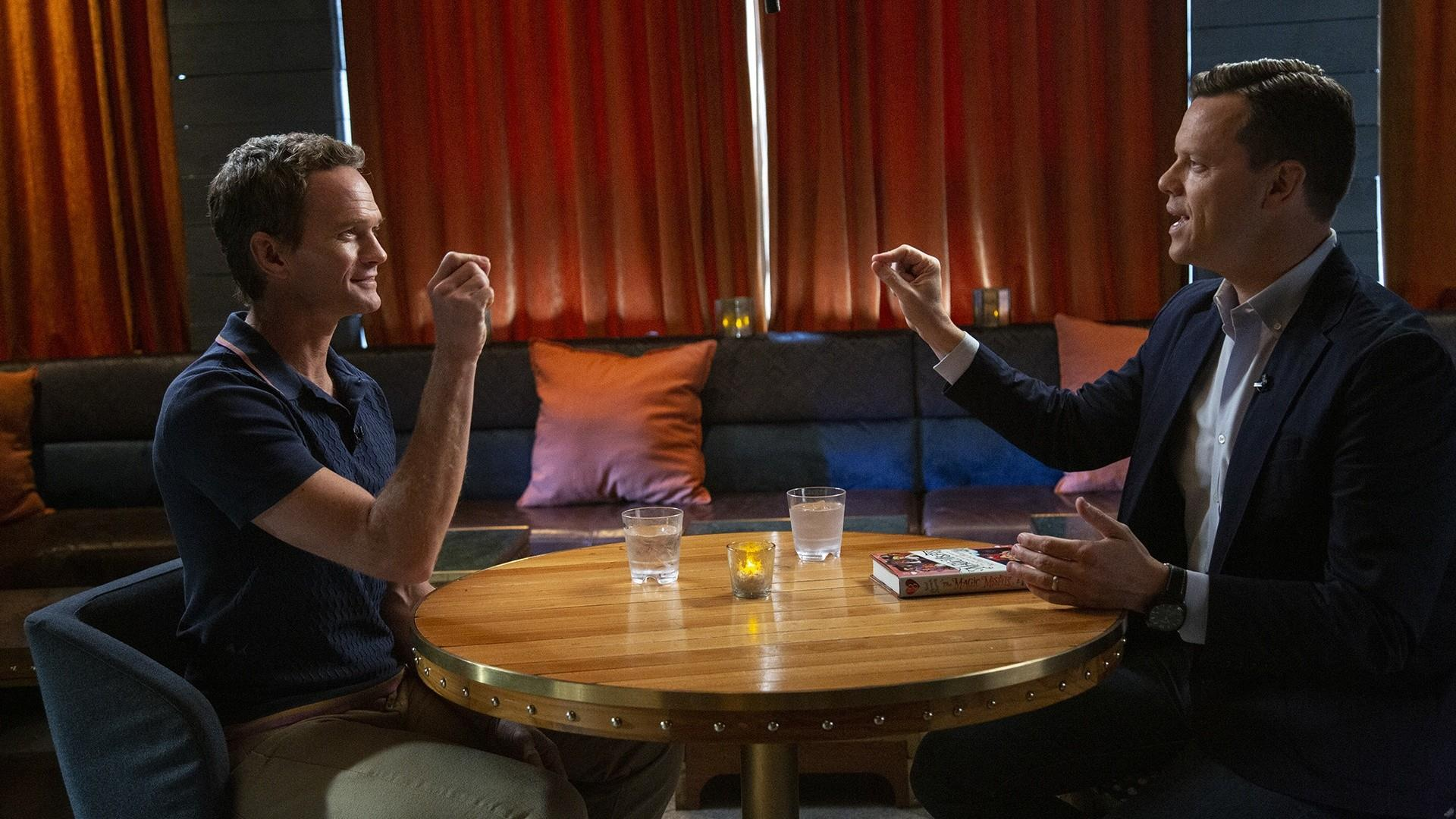 Neil Patrick Harris Blows Willies Mind With A Card Trick