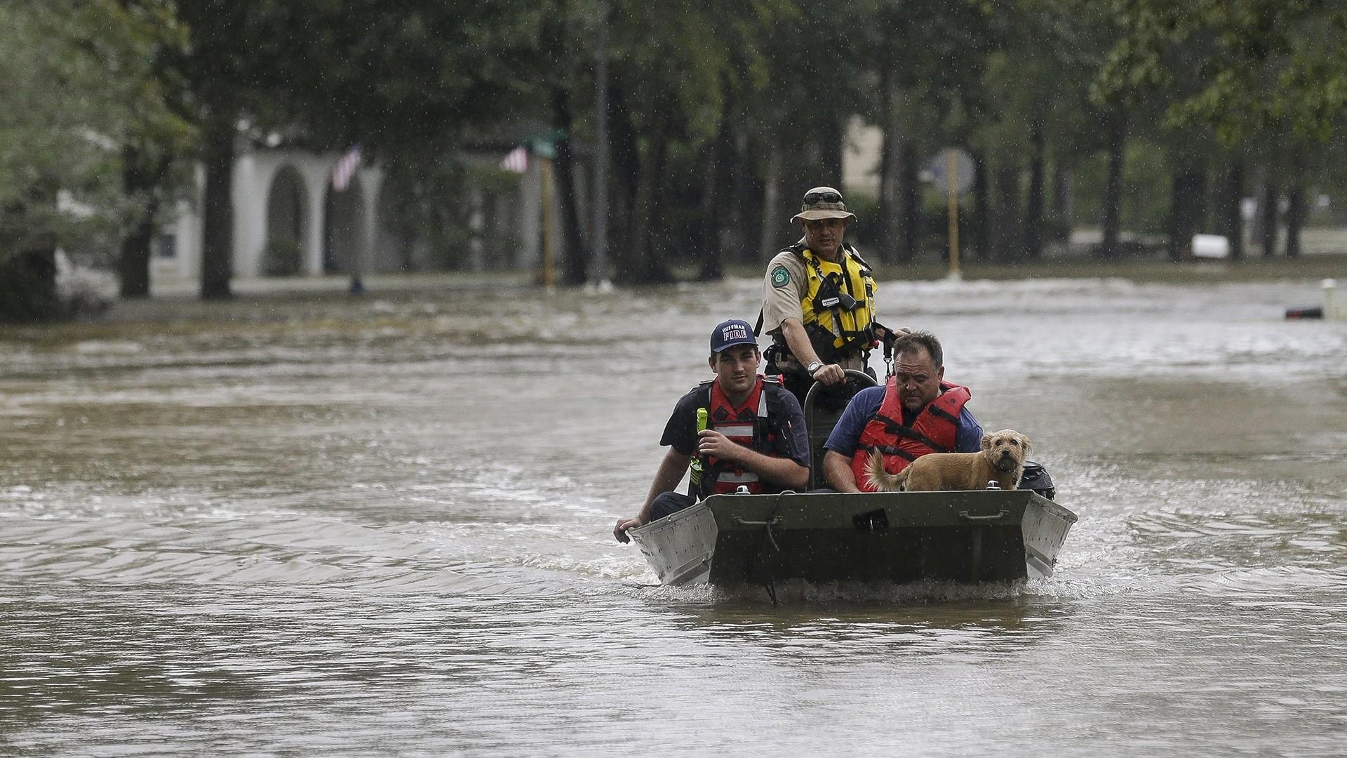 Fifth death in Texas following flooding caused by remnants of tropical storm