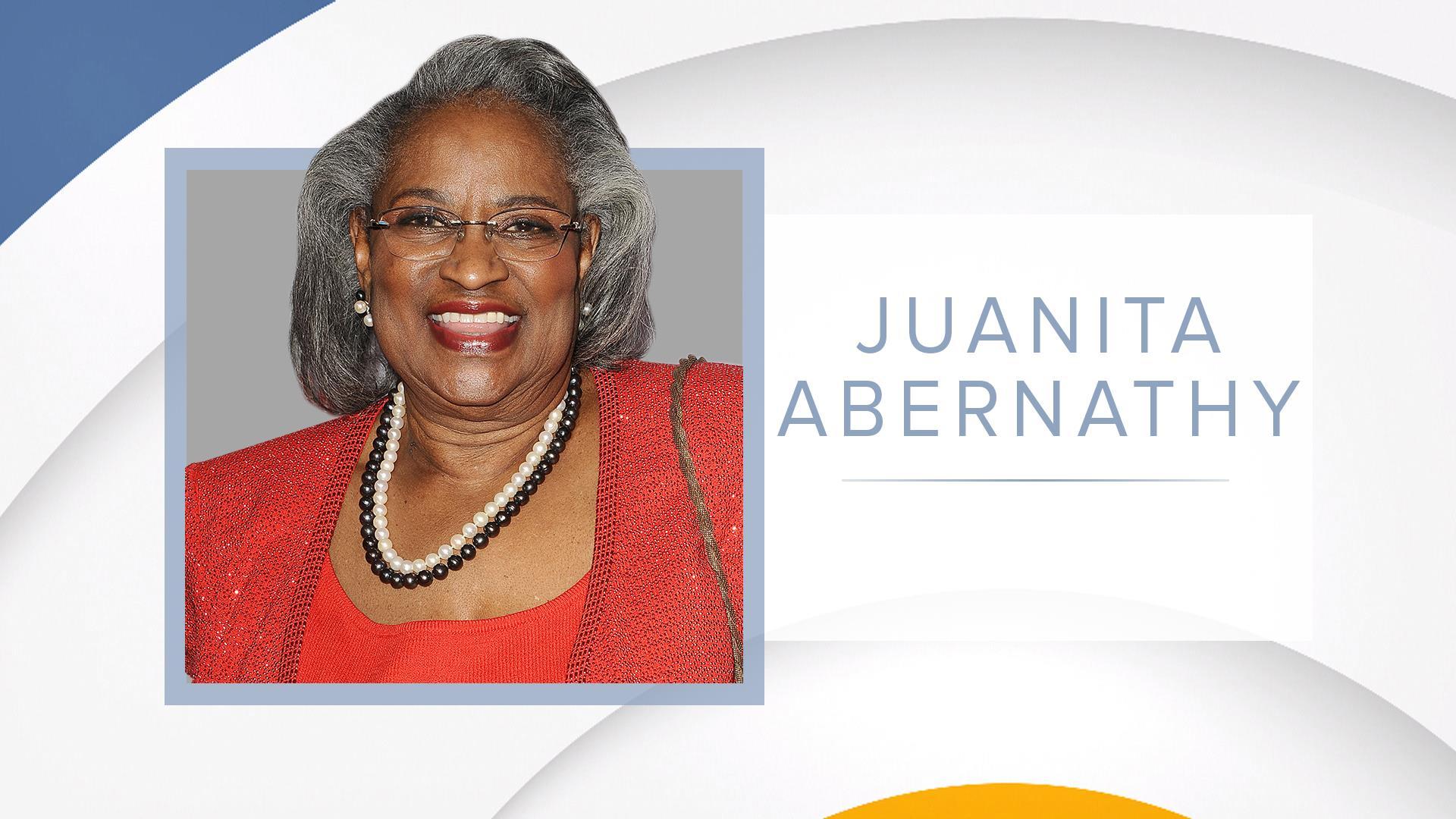 Civil rights advocate Juanita Abernathy dies